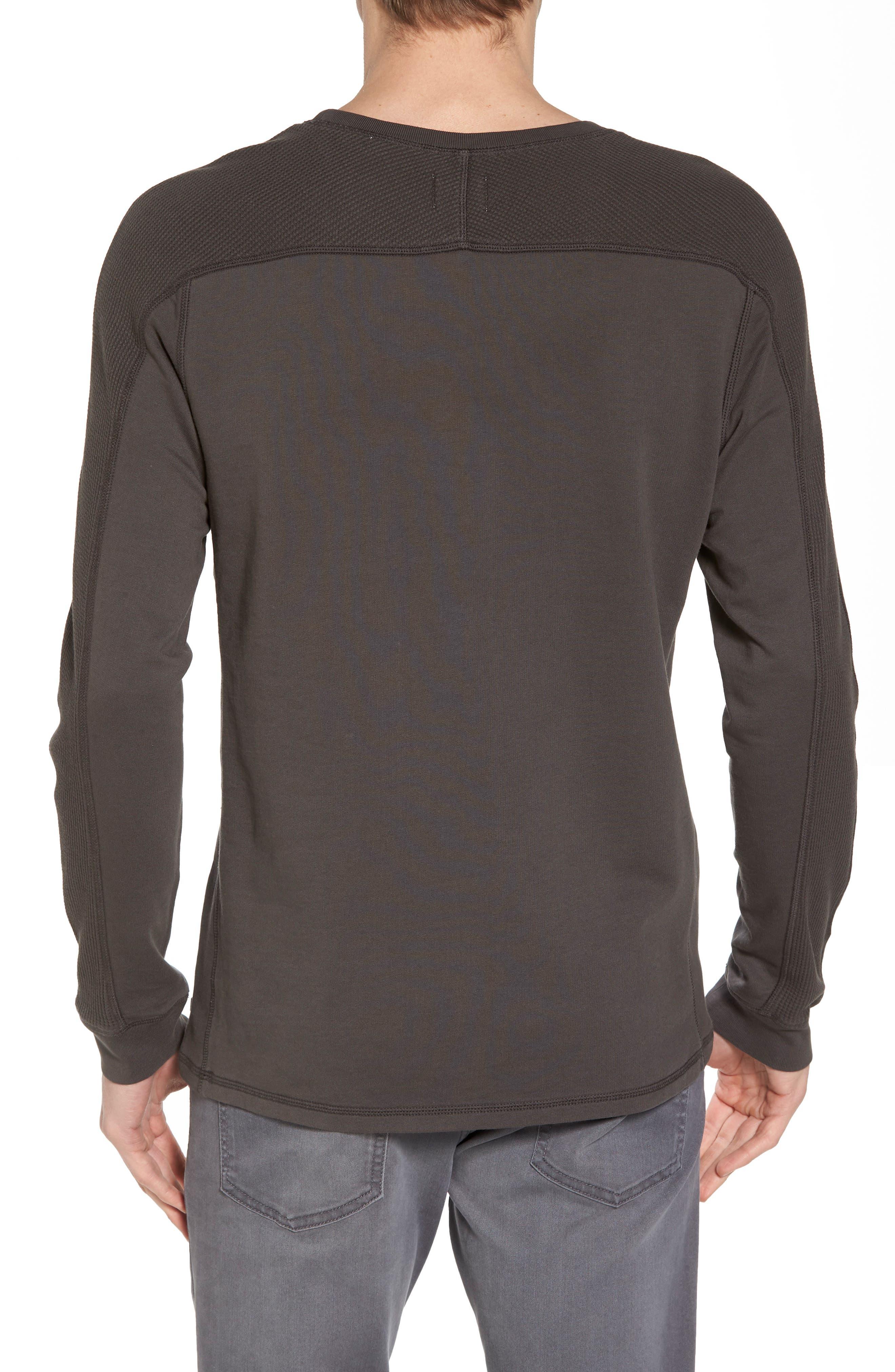 Trevor Slim Fit Crewneck Shirt,                             Alternate thumbnail 2, color,                             Smoke Grey