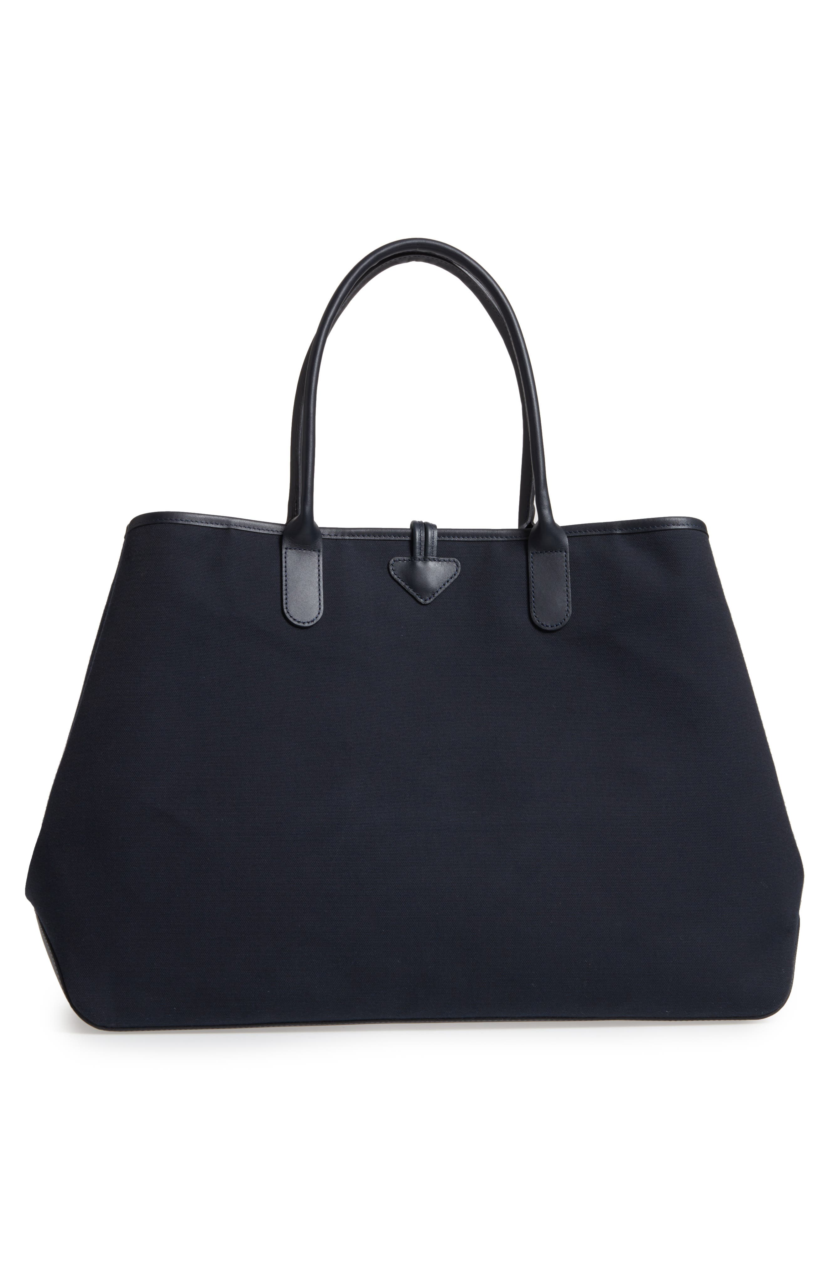Roseau 1948 Extra Large Tote,                             Alternate thumbnail 3, color,                             Navy
