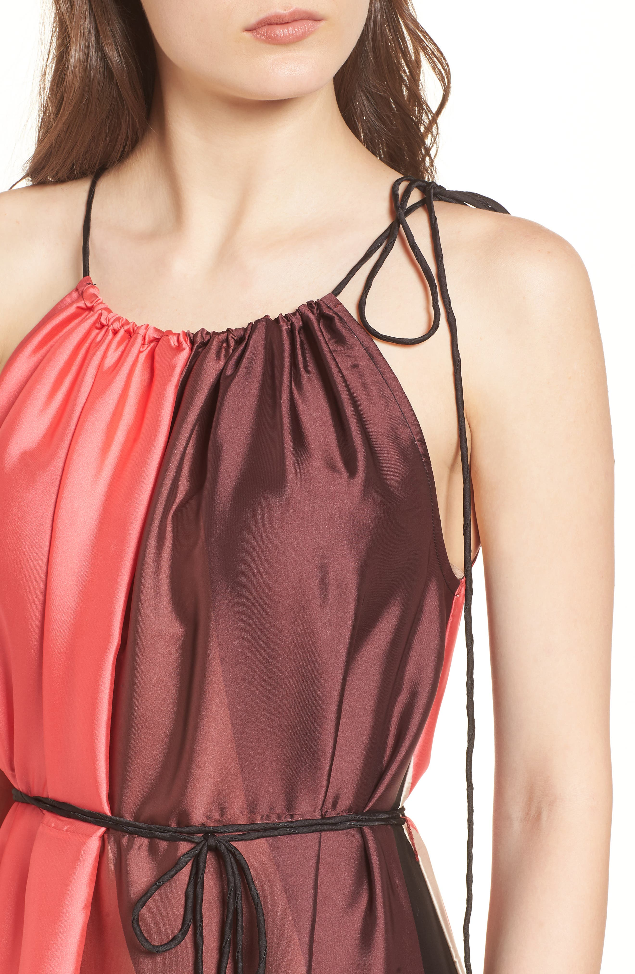 Icy Shores Maxi Dress,                             Alternate thumbnail 4, color,                             Multi