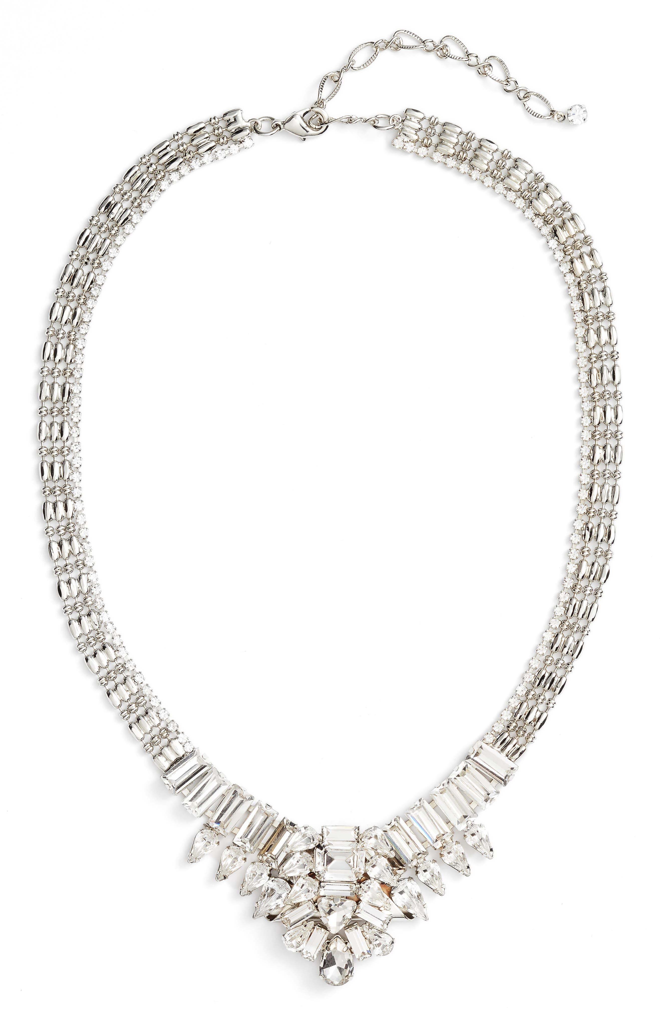 CRISTABELLE Crystal Statement Collar Necklace