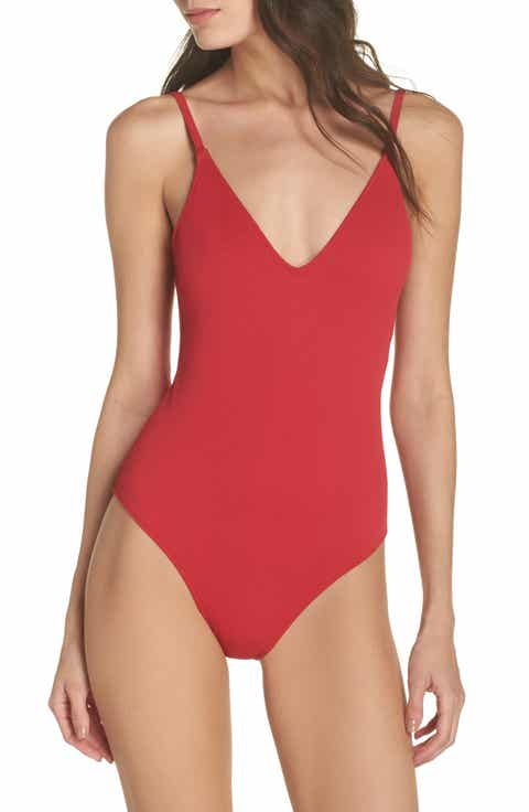 Leith Textured One-Piece Swimsuit