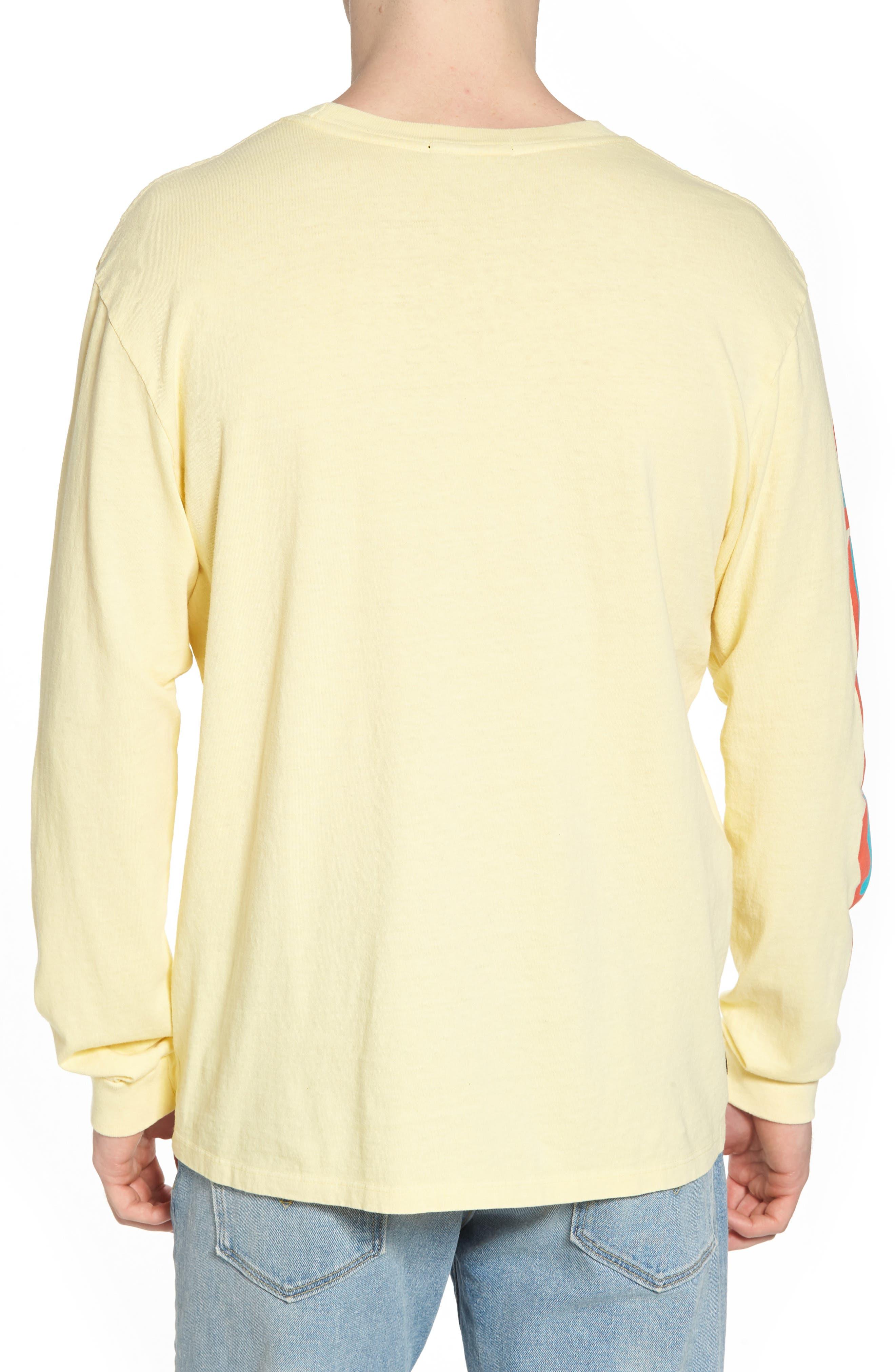 New World II Pigment T-Shirt,                             Alternate thumbnail 2, color,                             Dusty Lemon