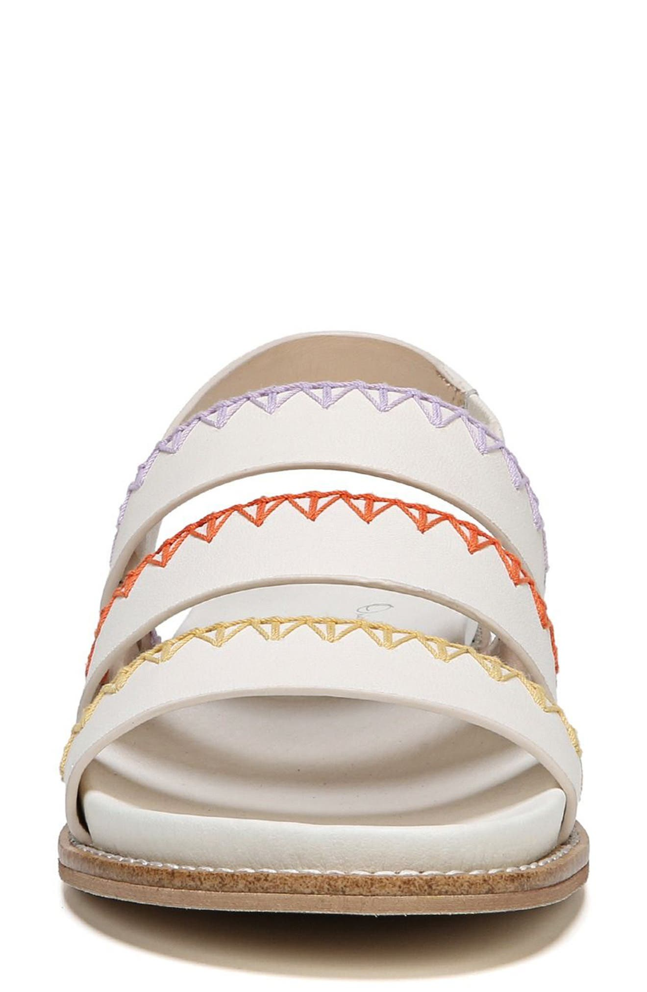 Discover Sandal,                             Alternate thumbnail 3, color,                             Marshmallow Leather