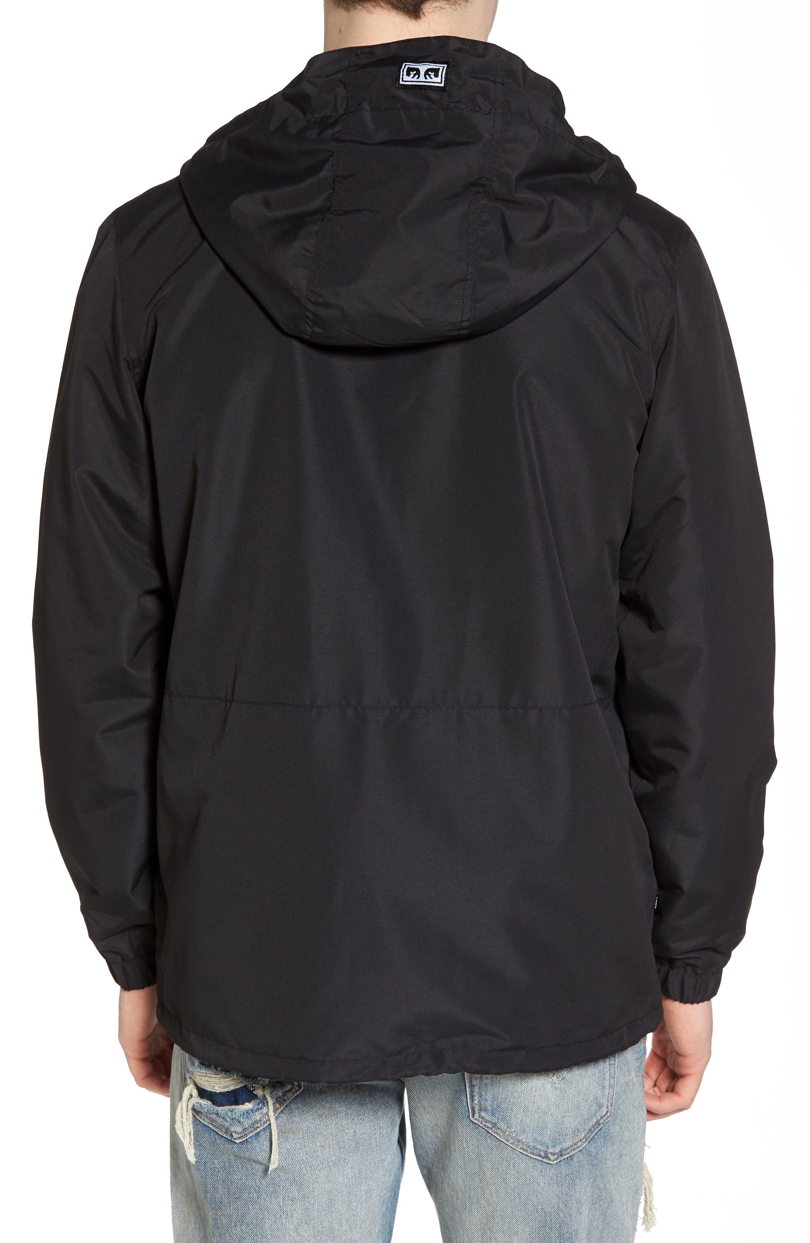 Ambush Hooded Jacket,                             Alternate thumbnail 2, color,                             Black