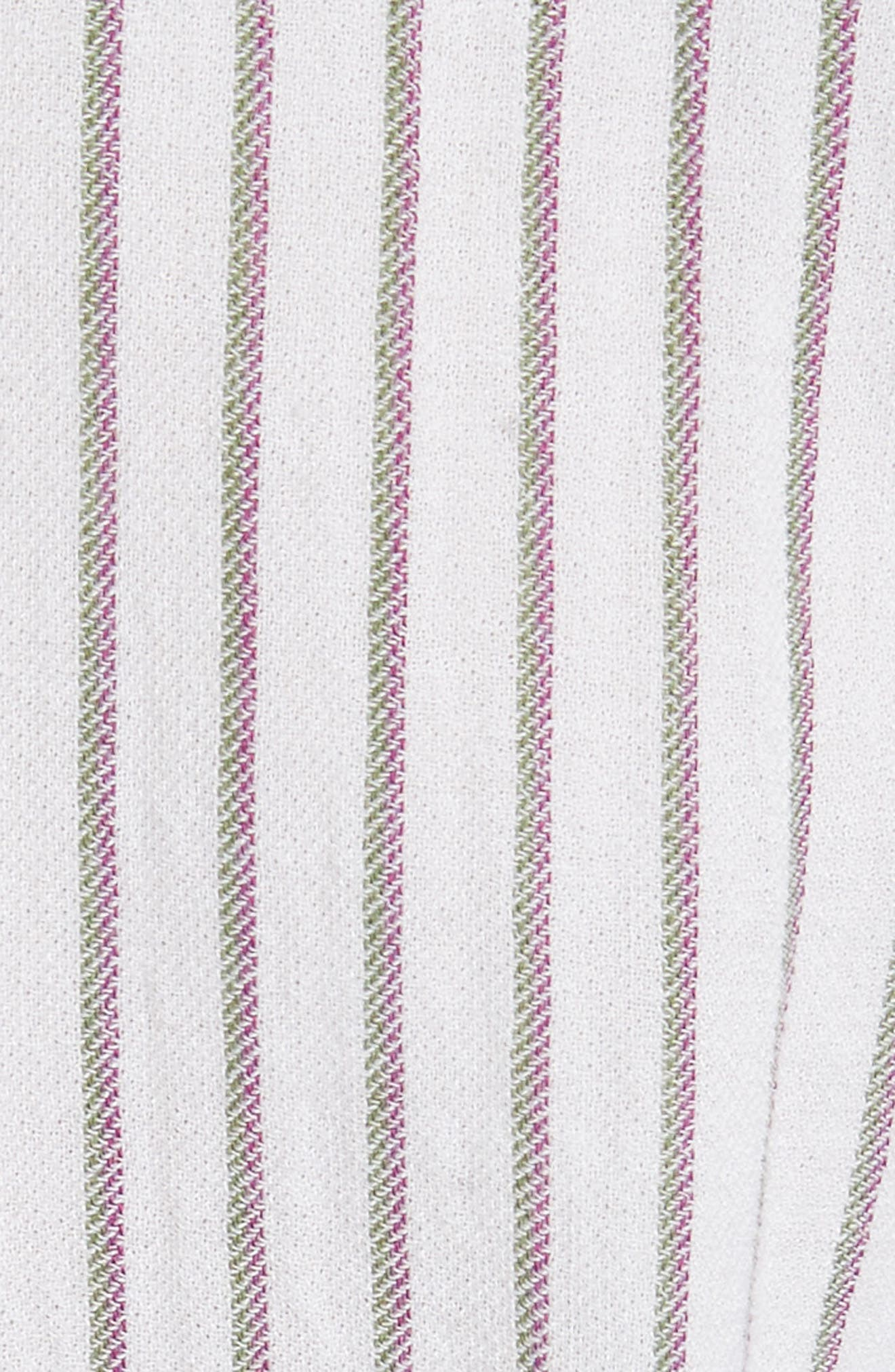 Tawerence Stripe Belted Tunic,                             Alternate thumbnail 6, color,                             Multi