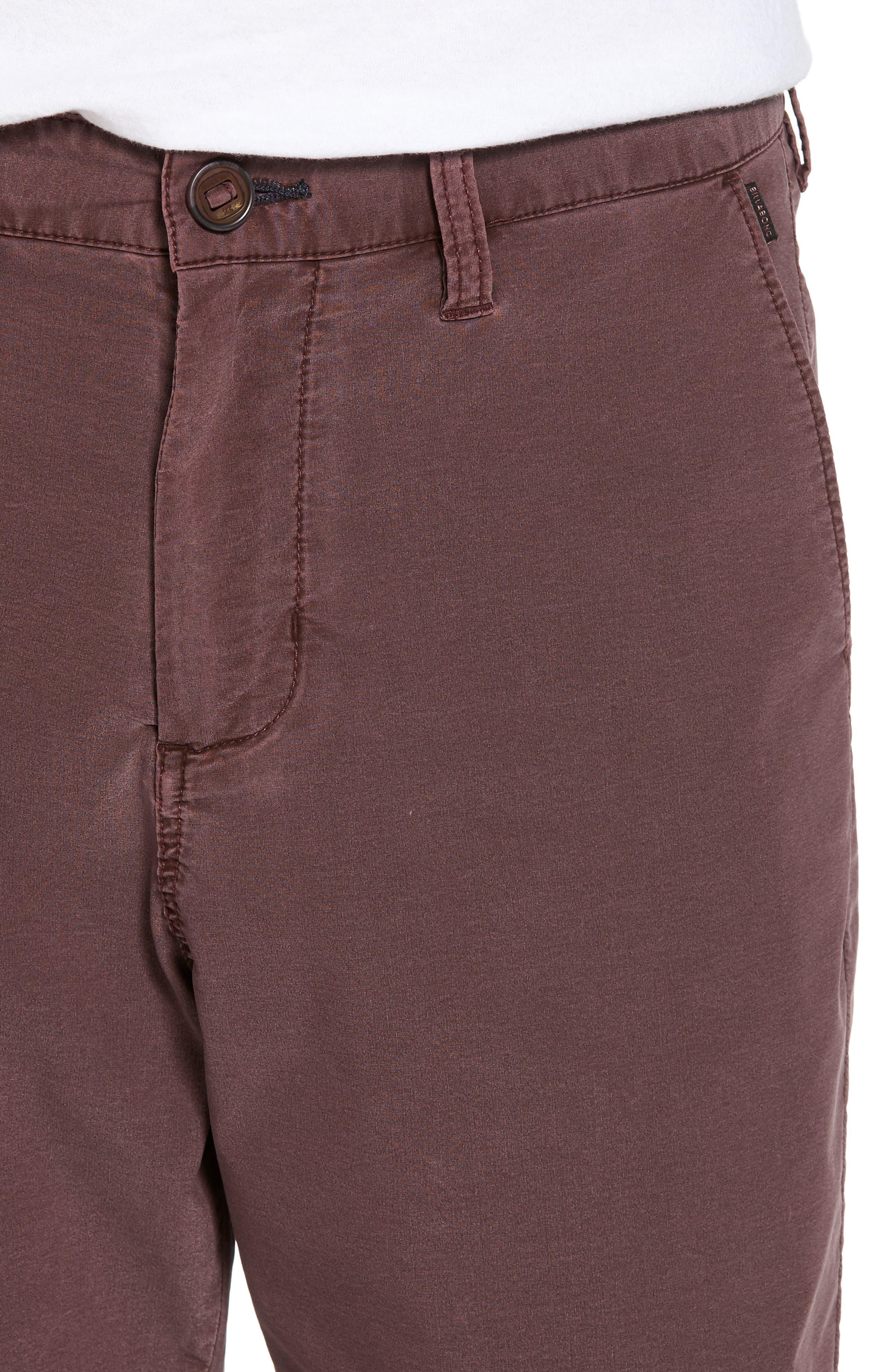 New Order X Overdye Hybrid Shorts,                             Alternate thumbnail 5, color,                             Rum