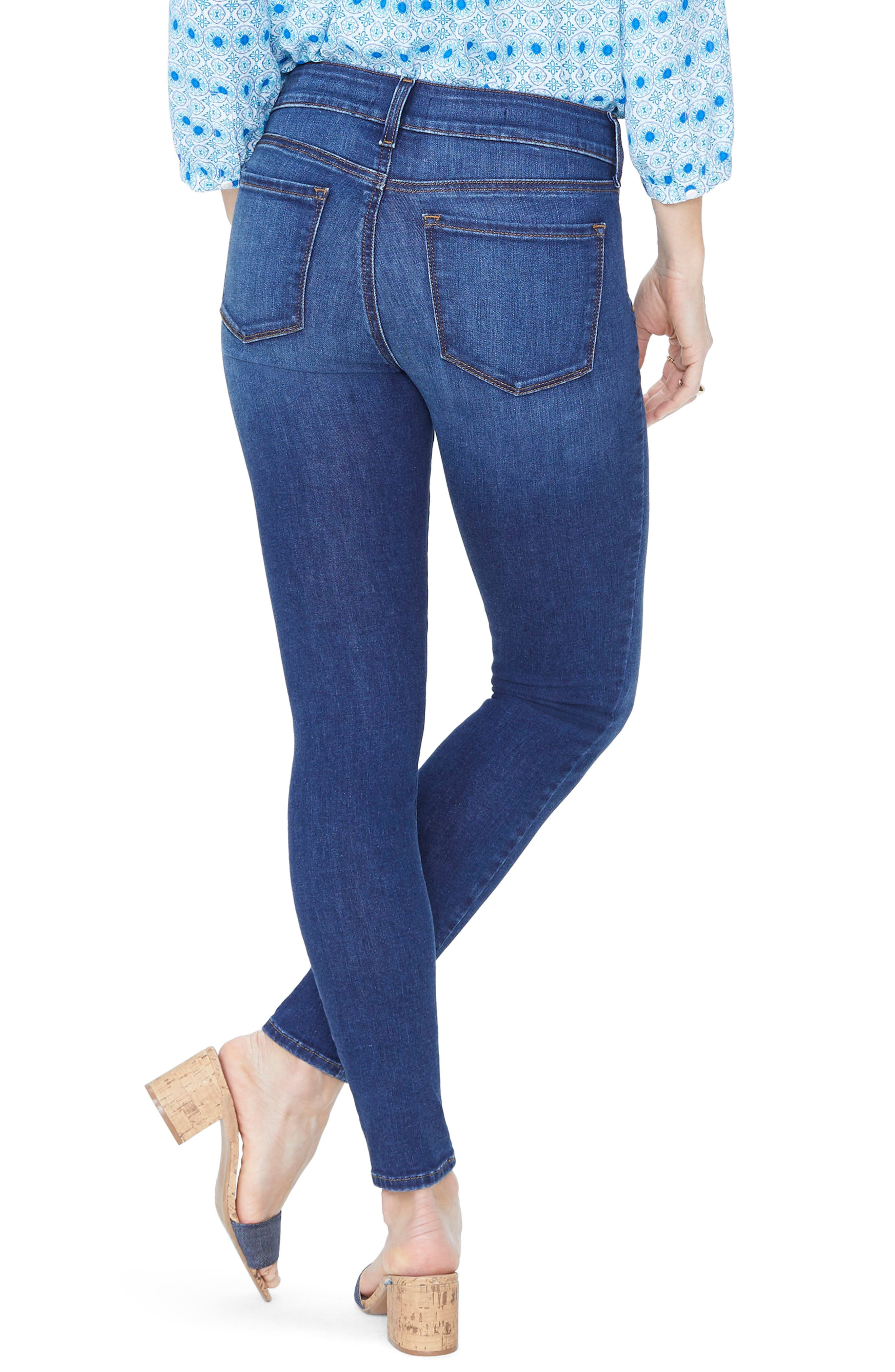 Ami Stretch Skinny Jeans,                             Alternate thumbnail 2, color,                             Cooper