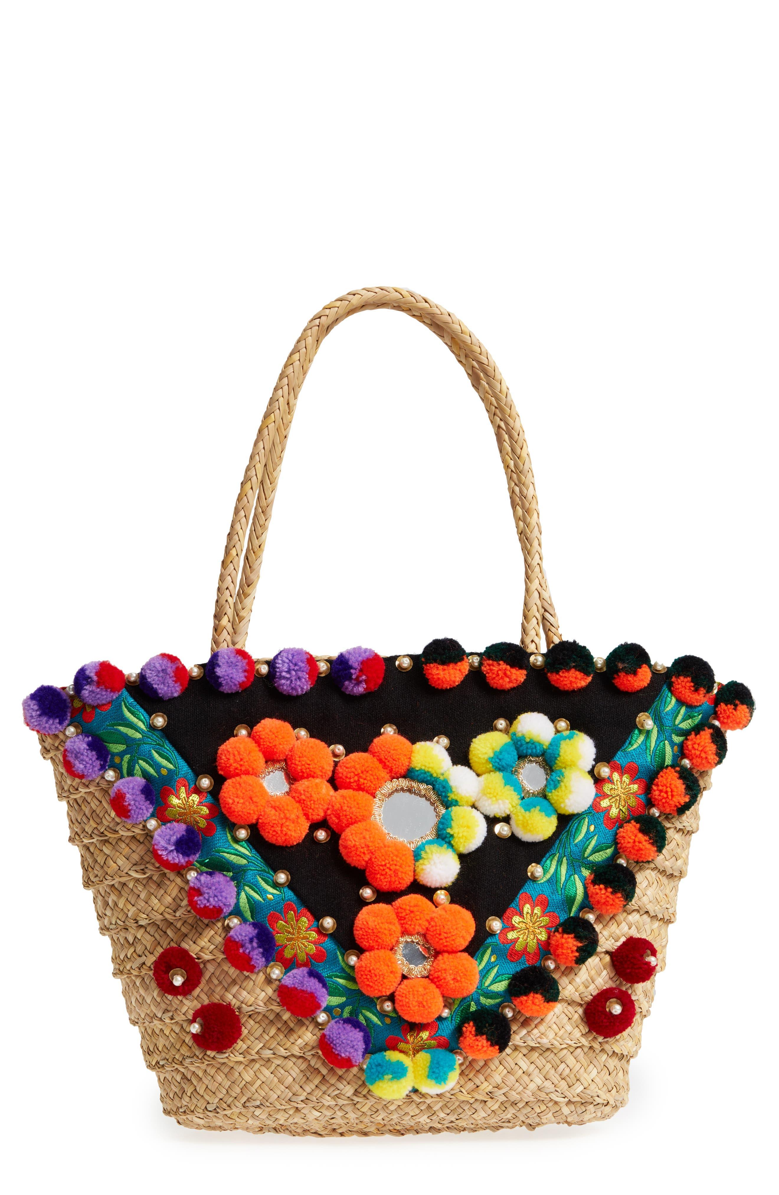Dreamy Beach Bag,                             Main thumbnail 1, color,                             Beige
