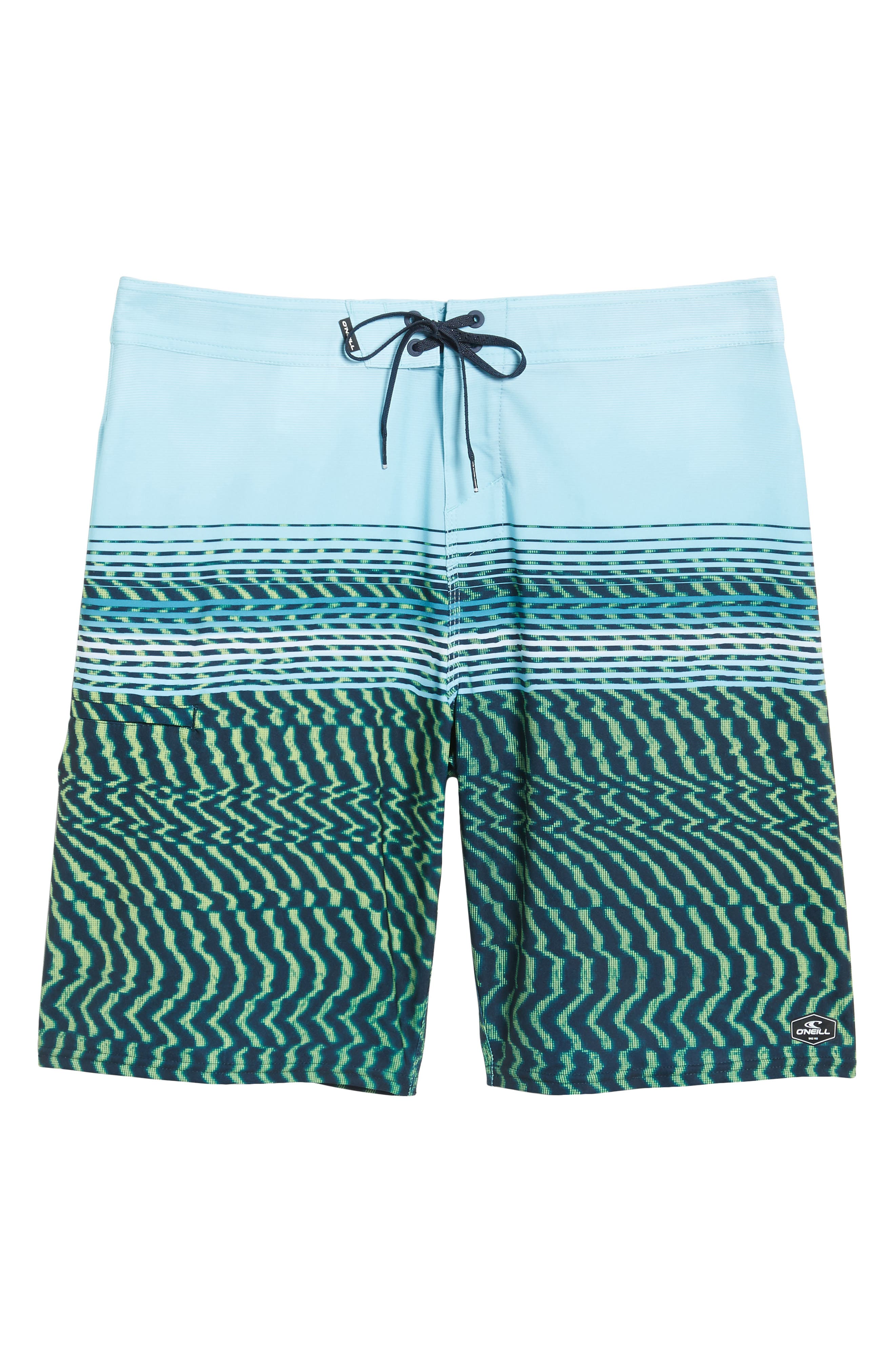 Hyperfreak Wavelength Board Shorts,                             Alternate thumbnail 6, color,                             Lime