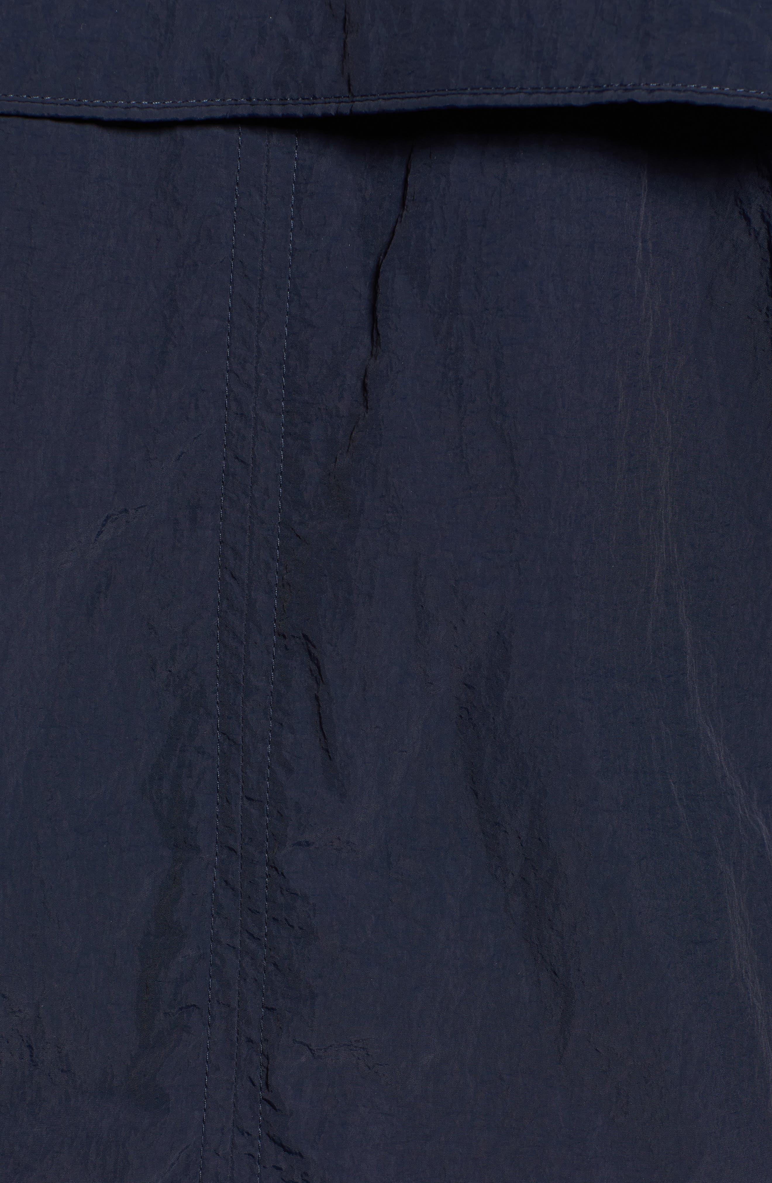 Lightweight Hooded Anorak,                             Alternate thumbnail 5, color,                             Navy