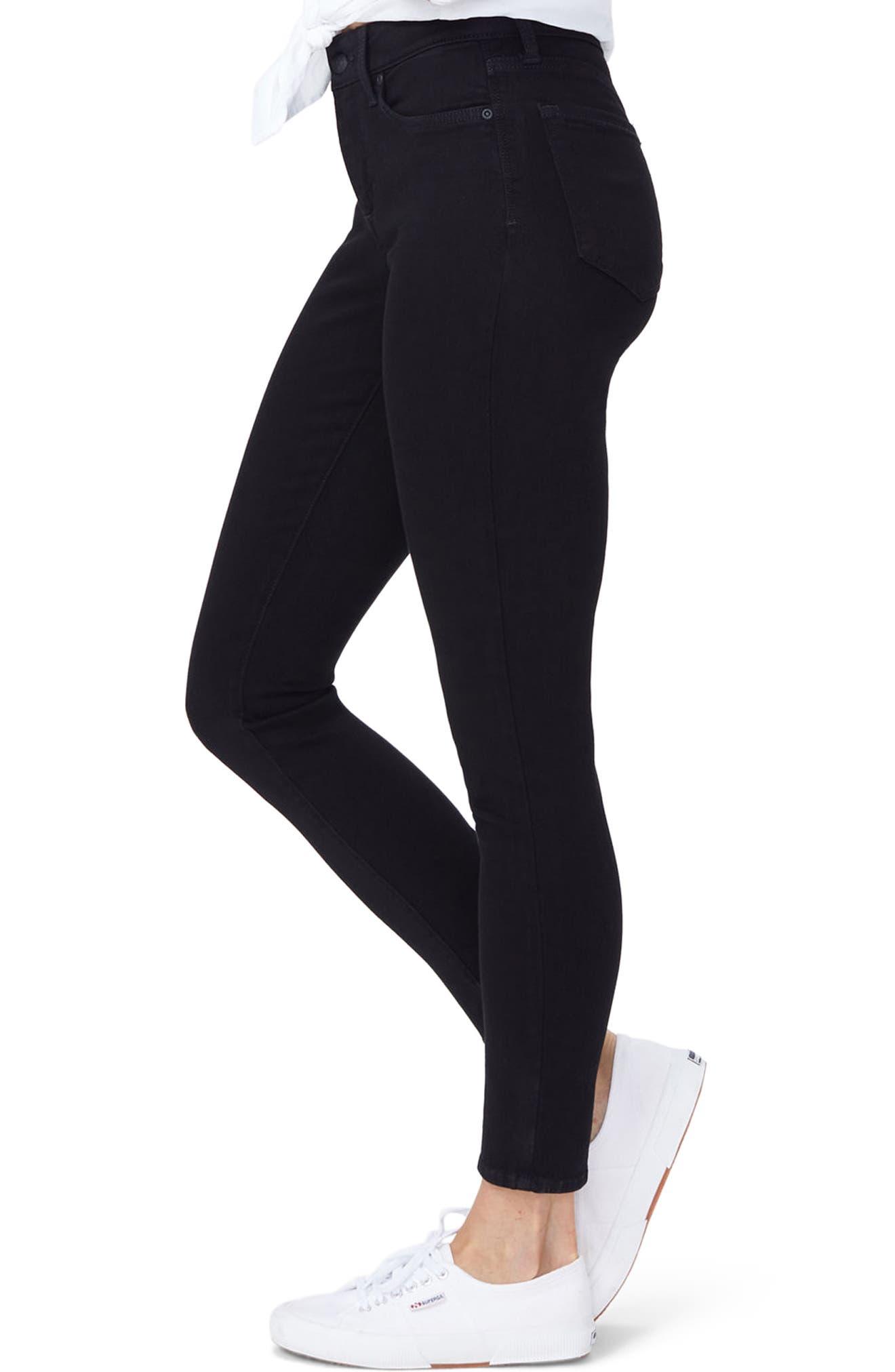 Alternate Image 3  - NYDJ Ami Stretch Super Skinny Jeans (Regular & Petite)