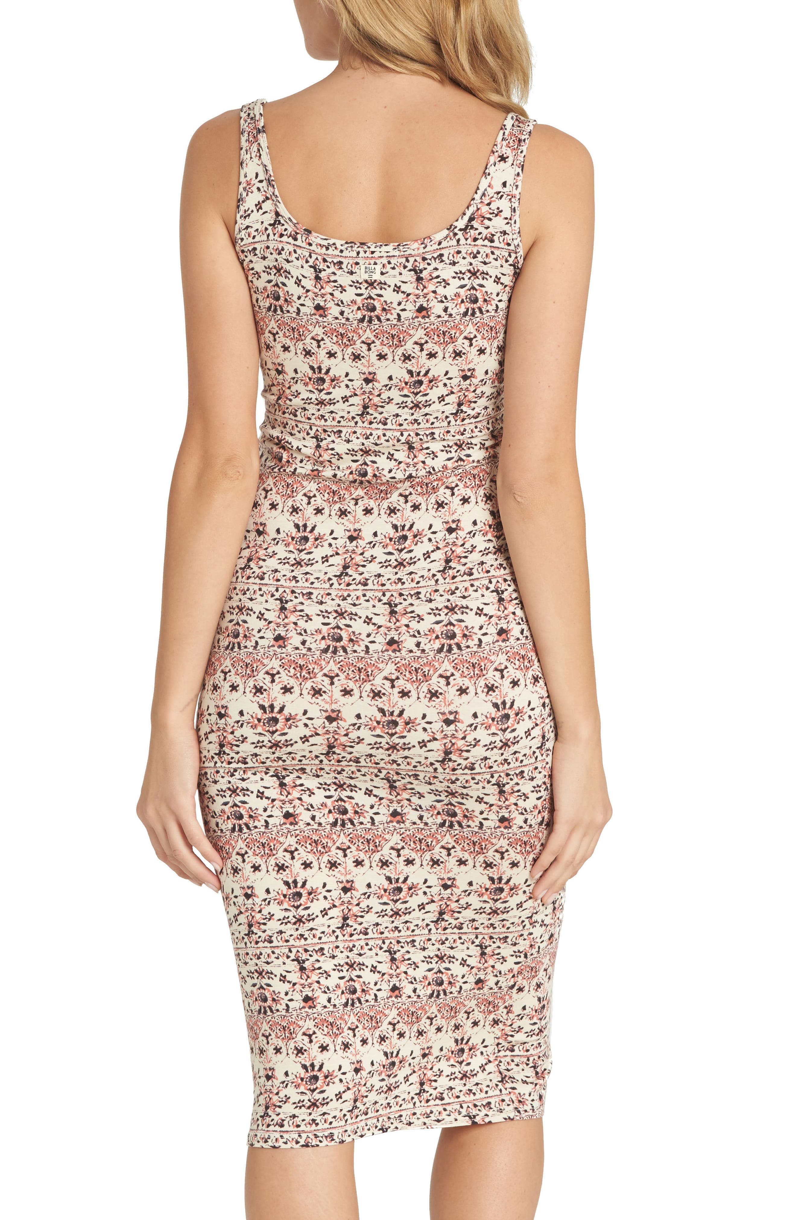 Share More Joy Print Body-Con Dress,                             Alternate thumbnail 2, color,                             Ivory