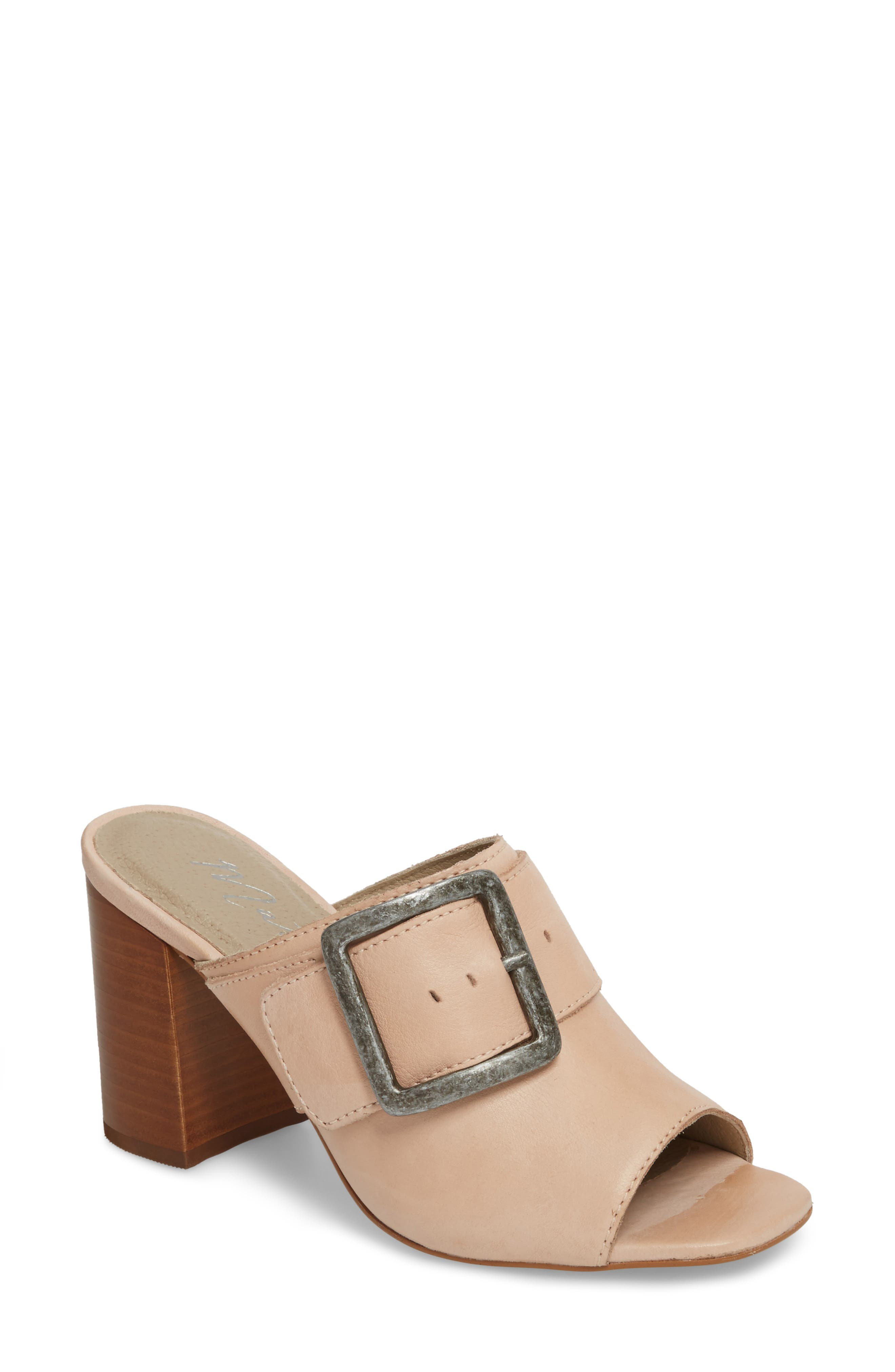 Beatrice Sandal,                             Main thumbnail 1, color,                             Nude Leather