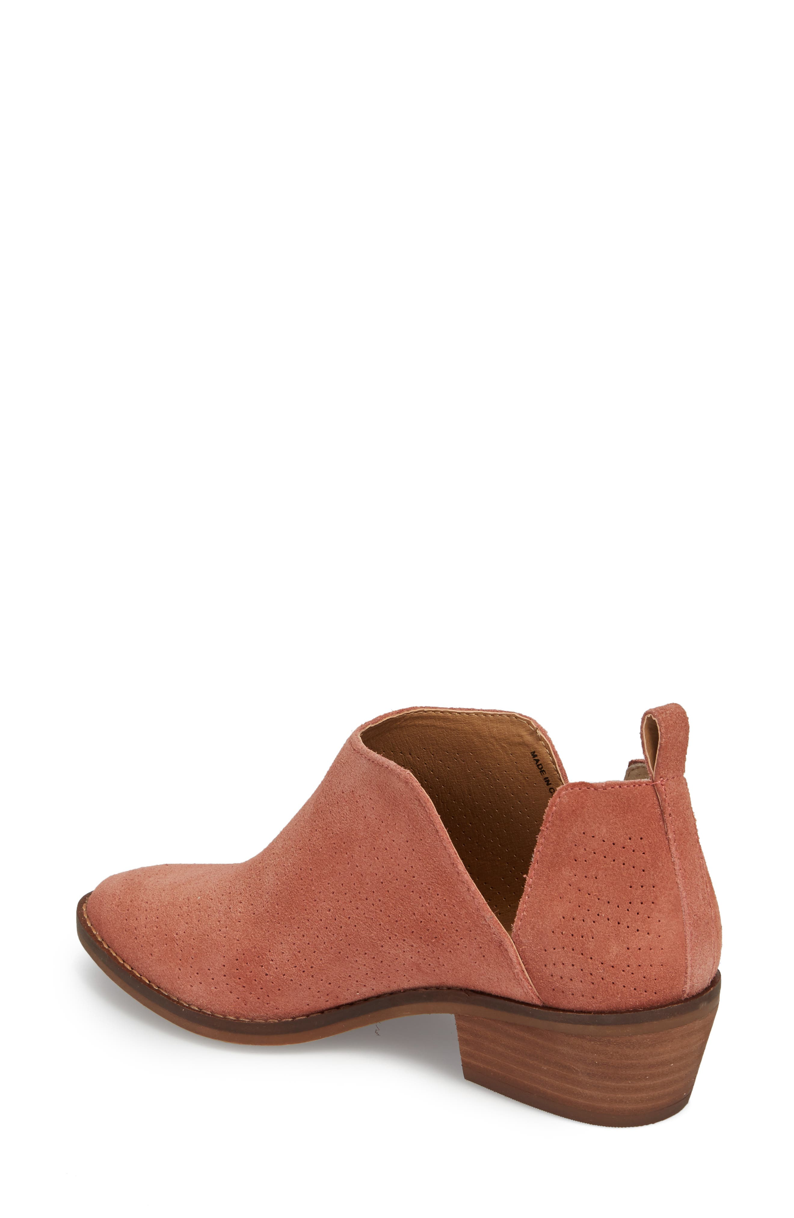 Fayth Bootie,                             Alternate thumbnail 2, color,                             Canyon Rose Suede