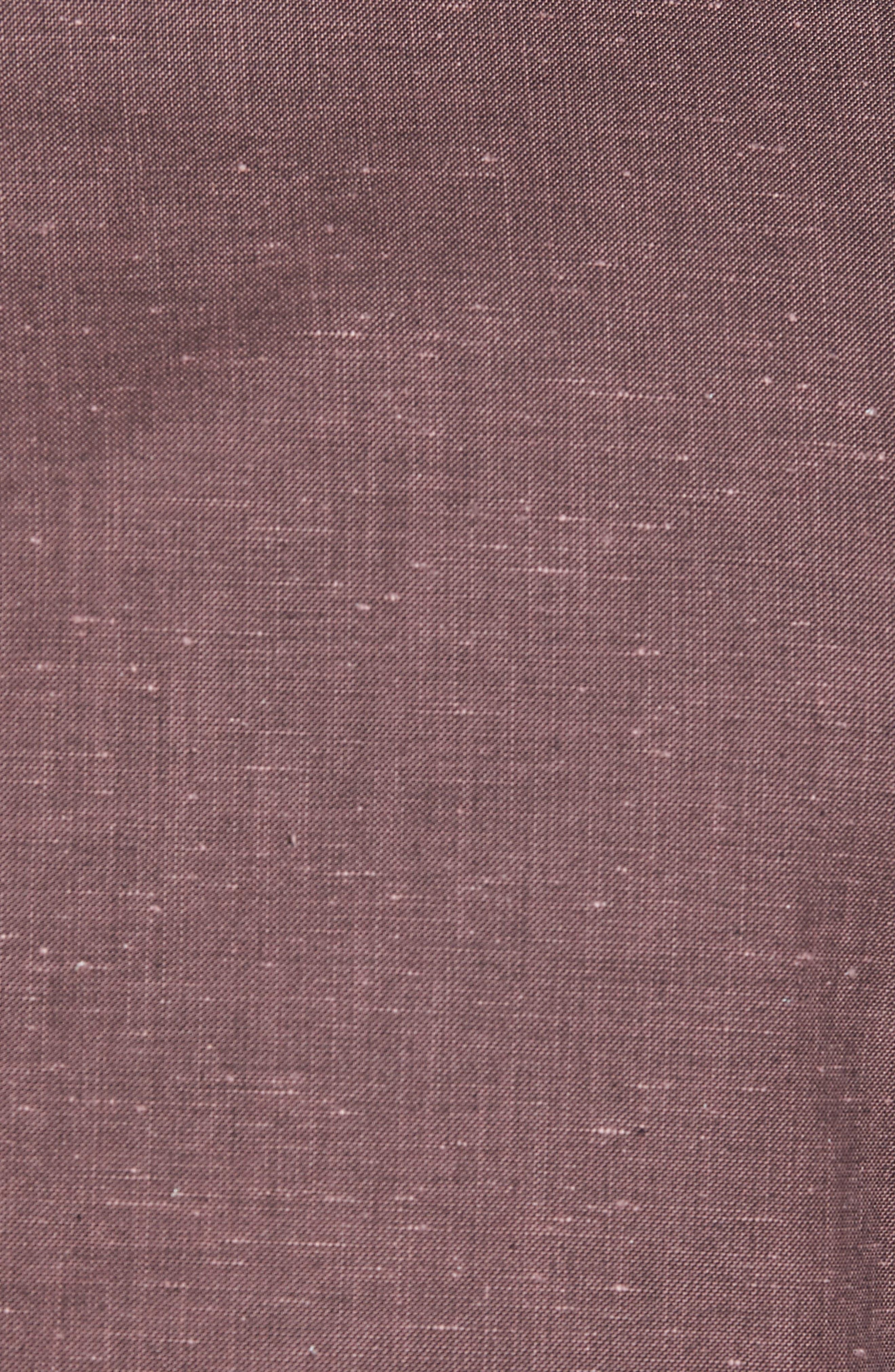 Classic Fit Slub Soft Sport Coat,                             Alternate thumbnail 5, color,                             Nantucket Red