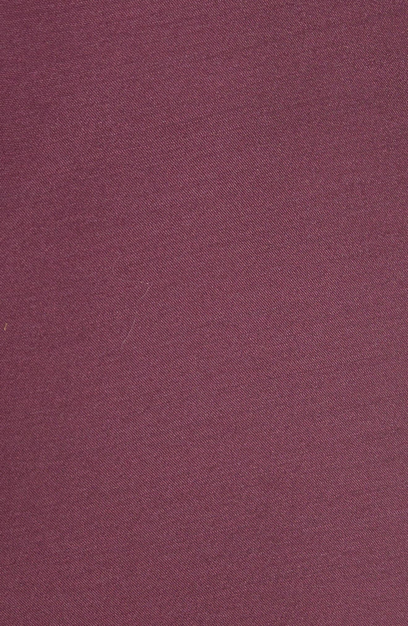 Sina Wide Leg Trousers,                             Alternate thumbnail 6, color,                             Plum