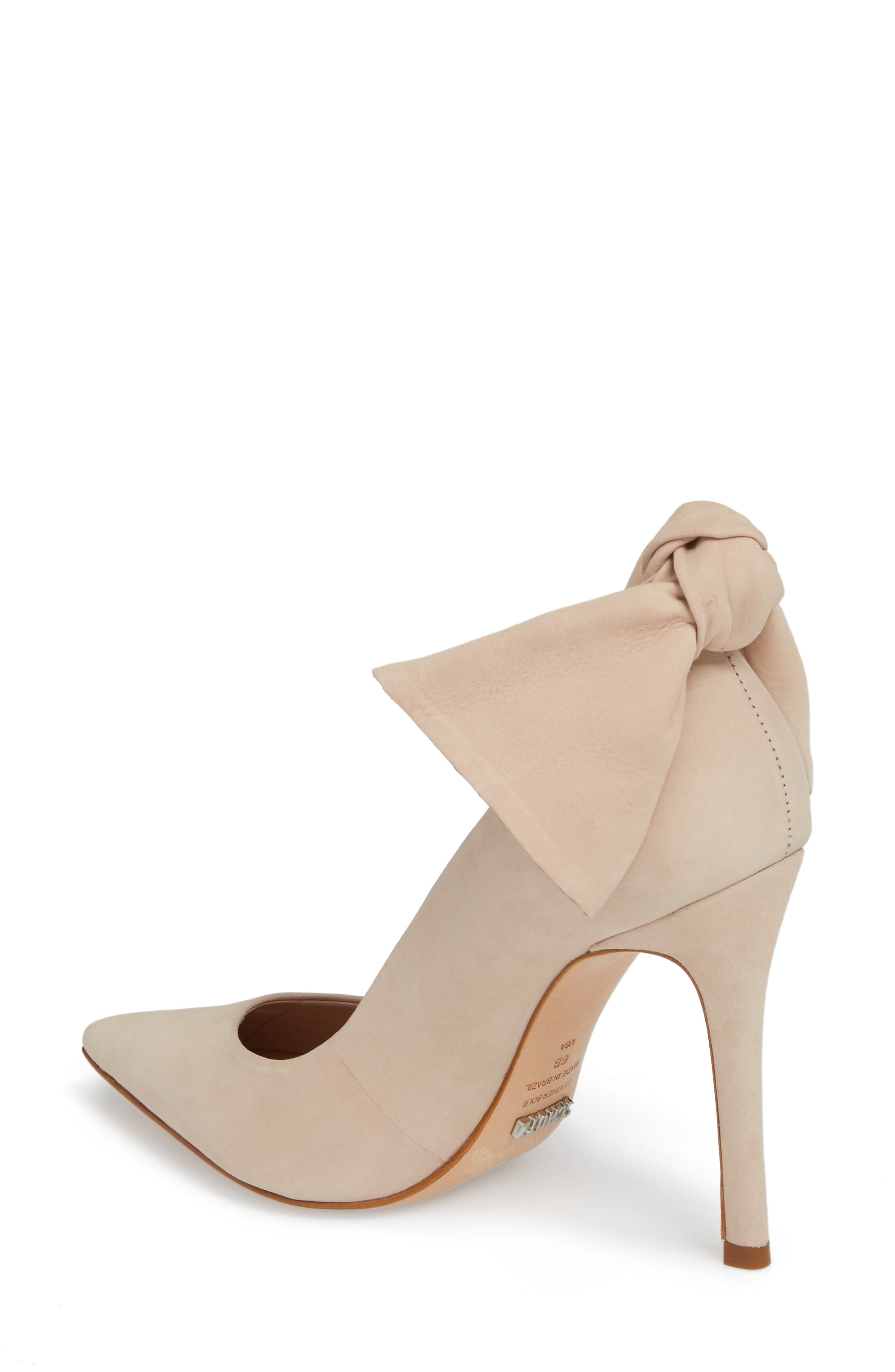 Blasiana Bow Pump,                             Alternate thumbnail 2, color,                             Bellini Leather