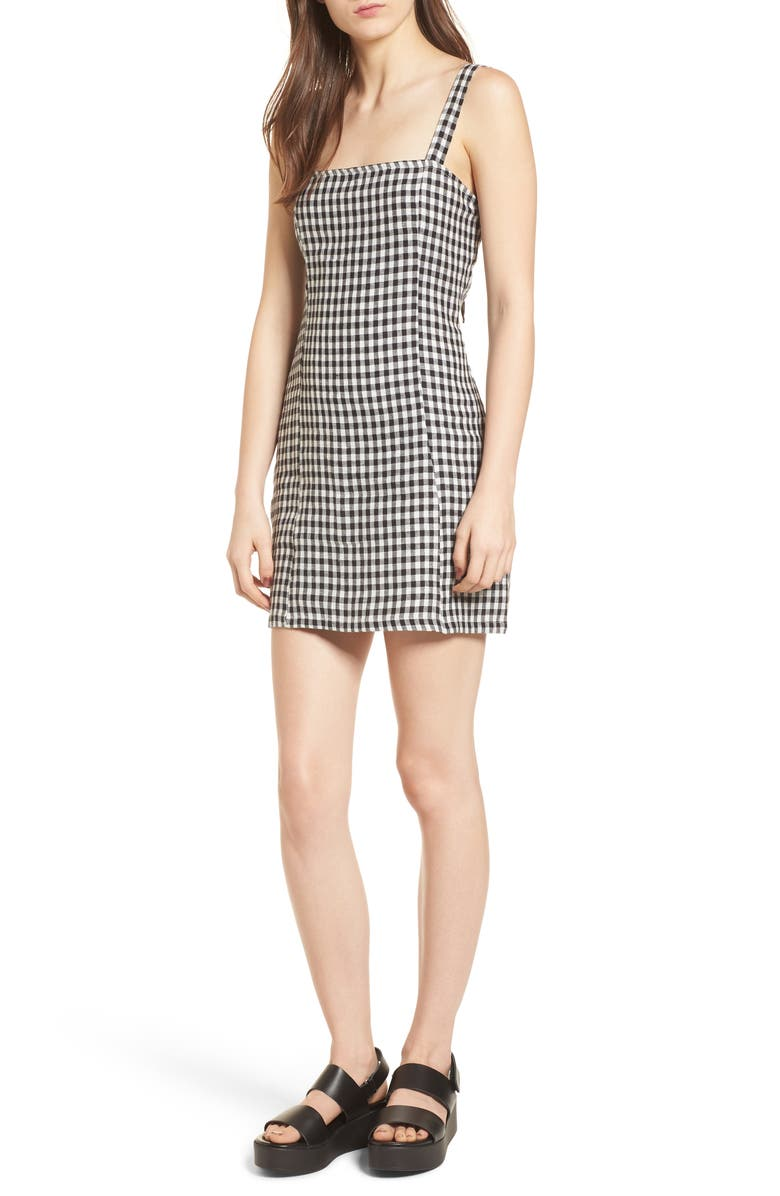 Shane Gingham Minidress