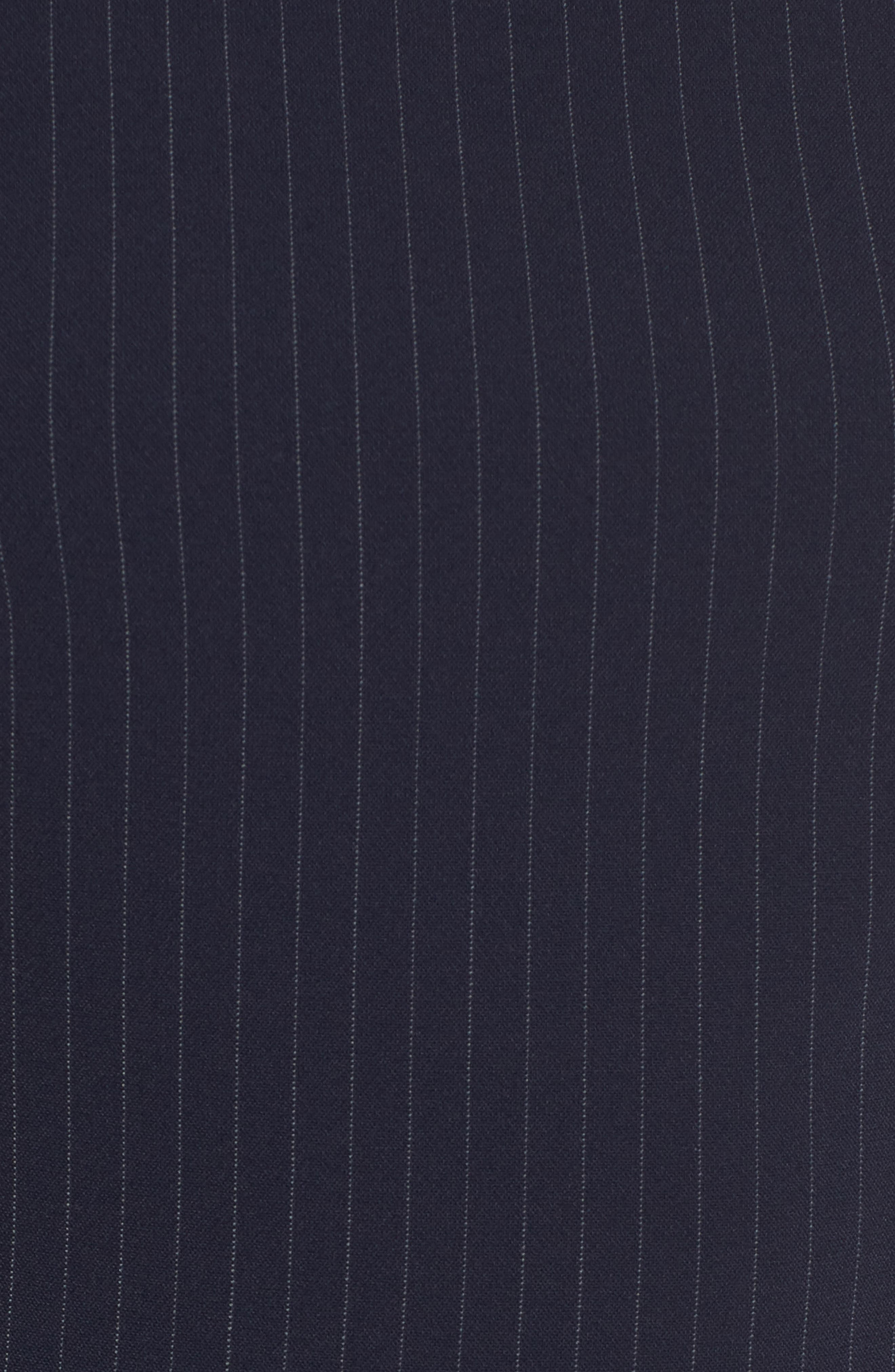 Denaka Pinstripe Sheath Dress,                             Alternate thumbnail 5, color,                             Nautical Fantasy