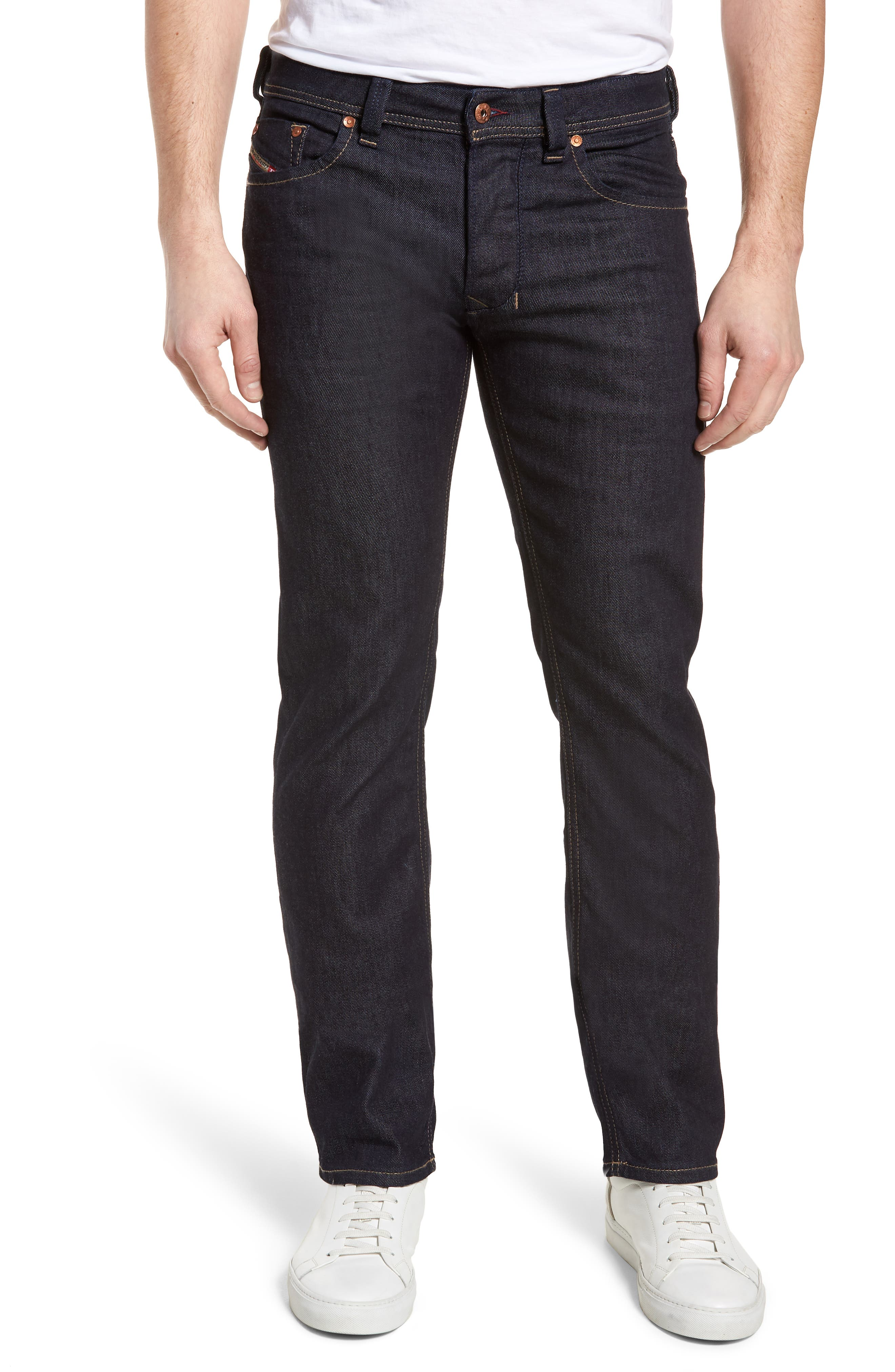 Larkee Relaxed Fit Jeans,                             Main thumbnail 1, color,                             Blue