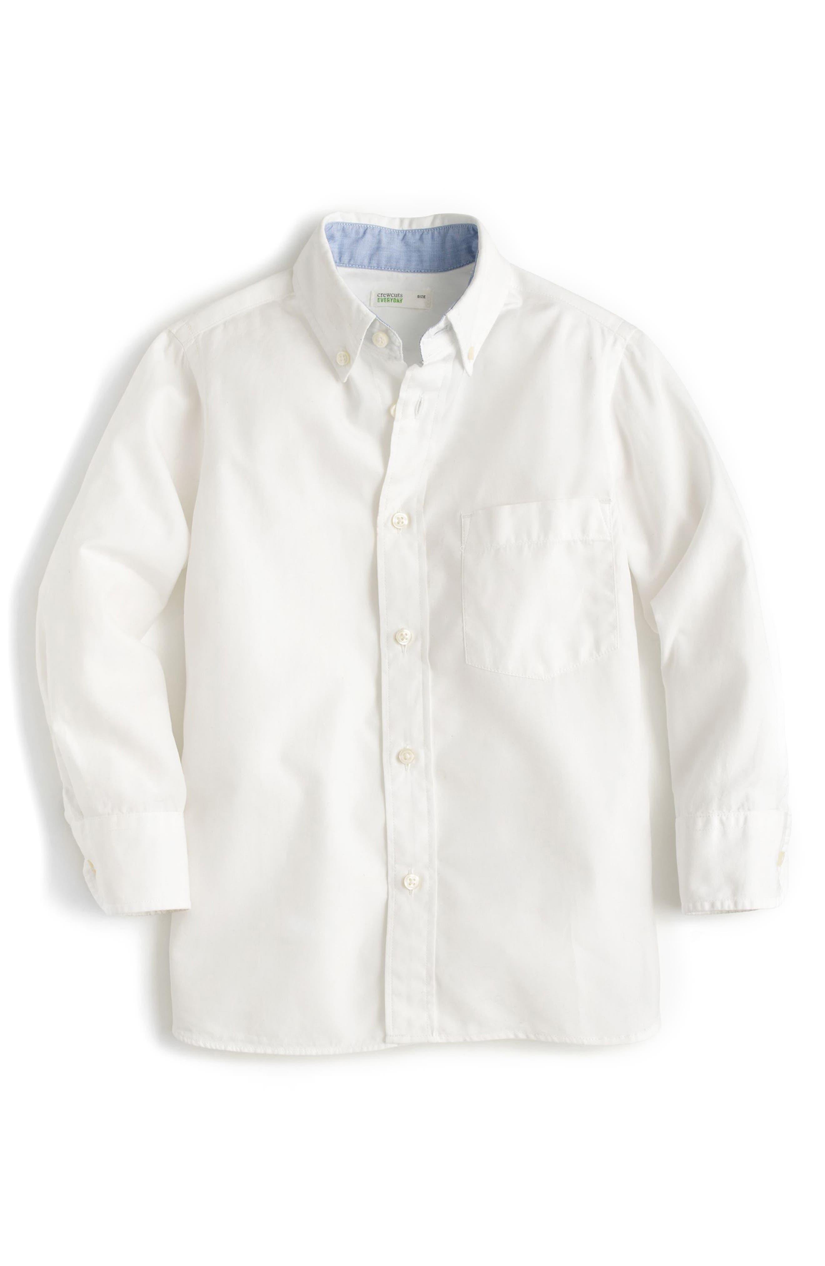 crewcuts by J.Crew Everyday Button Down Sport Shirt (Toddler Boys, Little Boys & Big Boys)