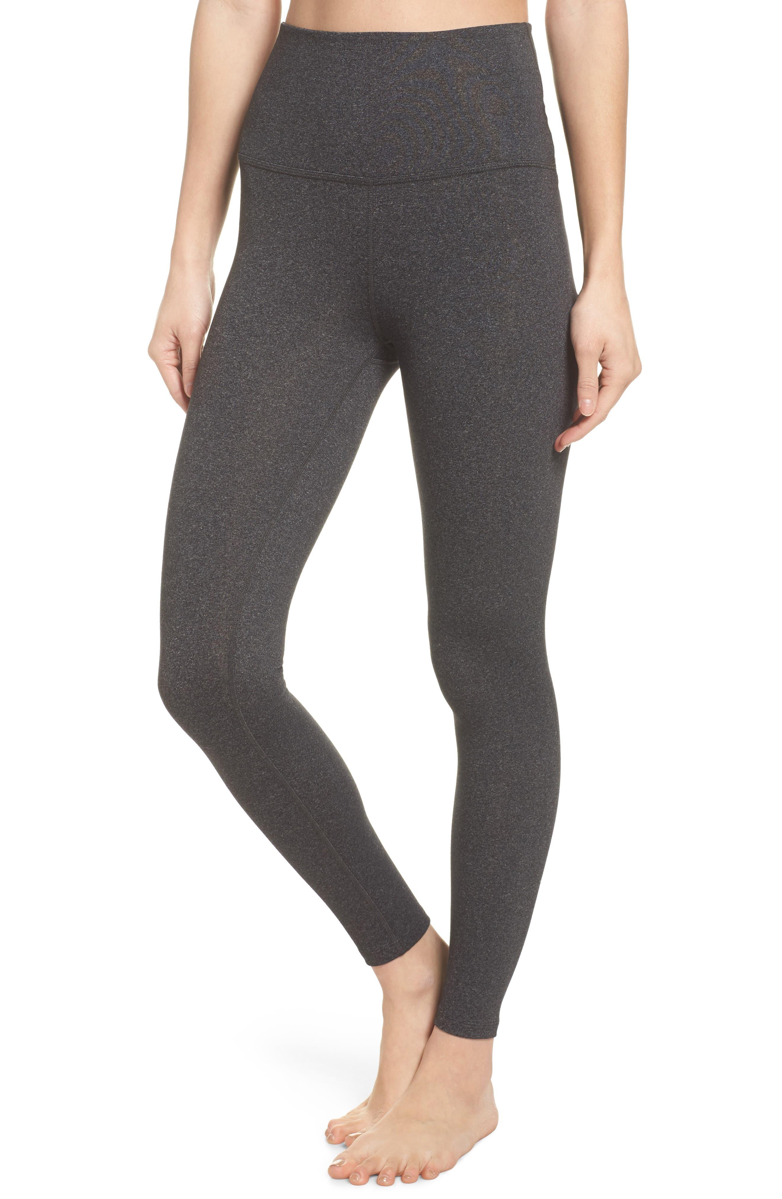Main Image - Beyond Yoga High Waist Midi Leggings