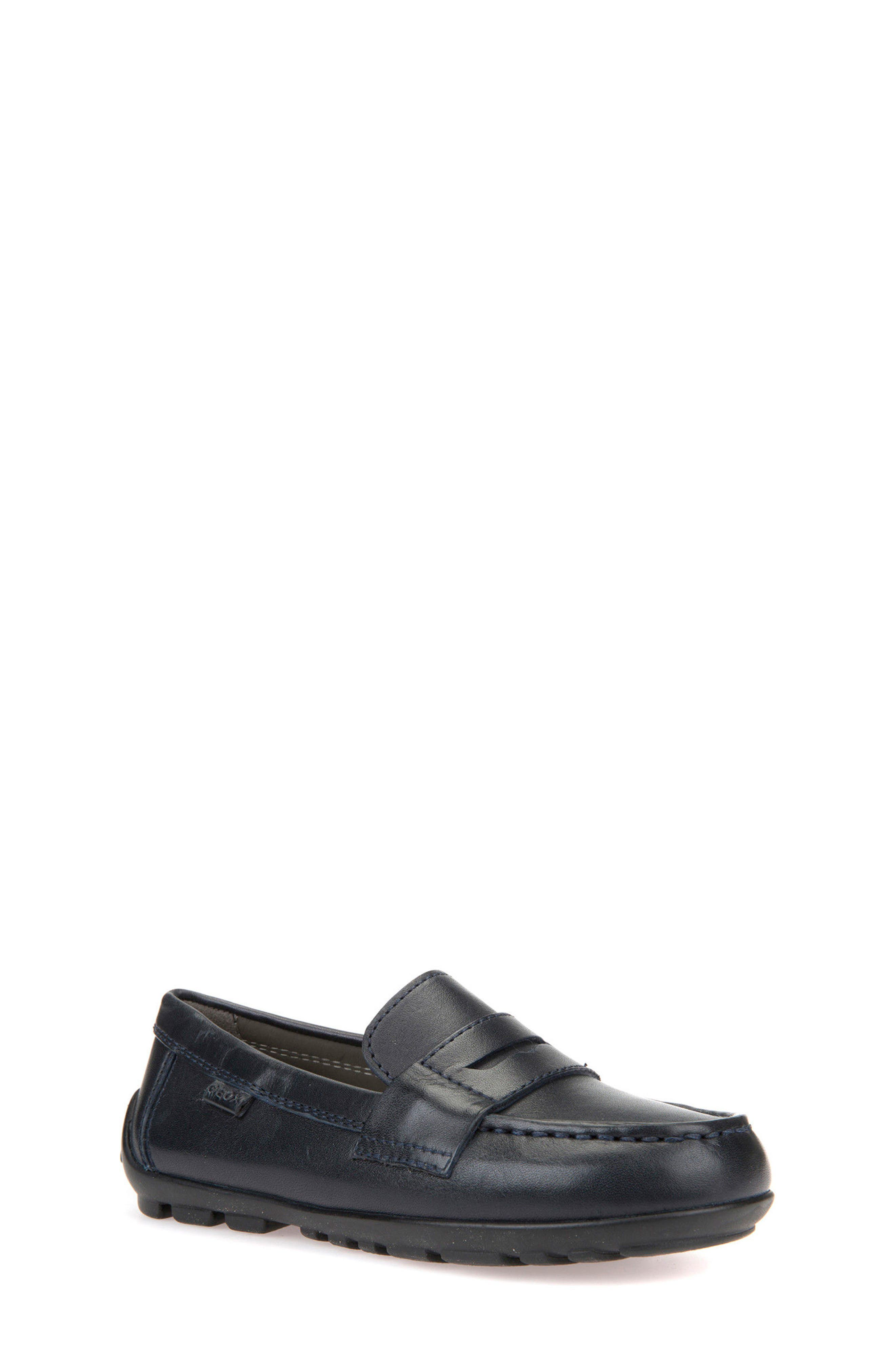 New Fast Driver Moccasin,                         Main,                         color, Navy