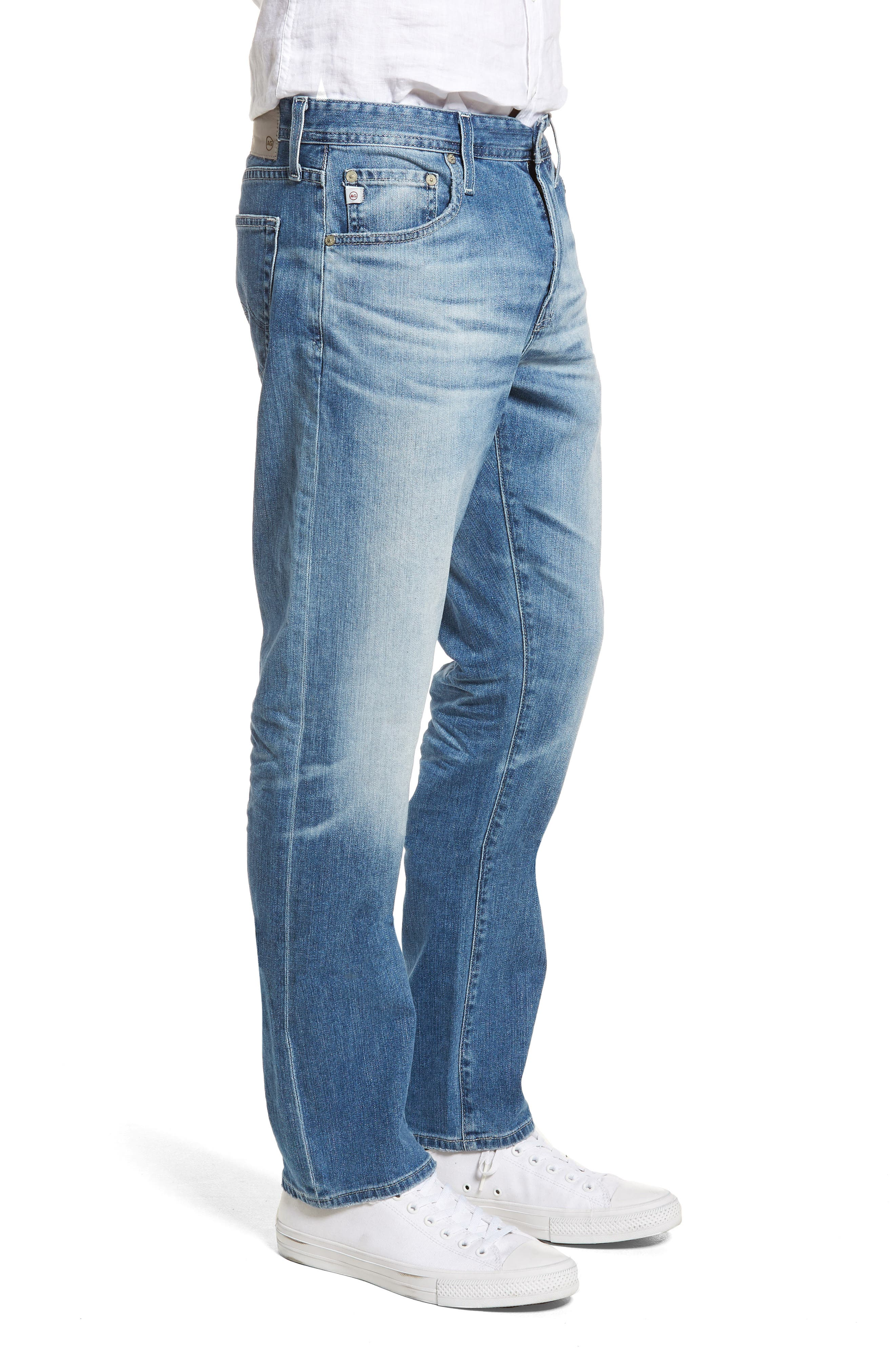 Ives Straight Leg Jeans,                             Alternate thumbnail 3, color,                             15 Years Aground