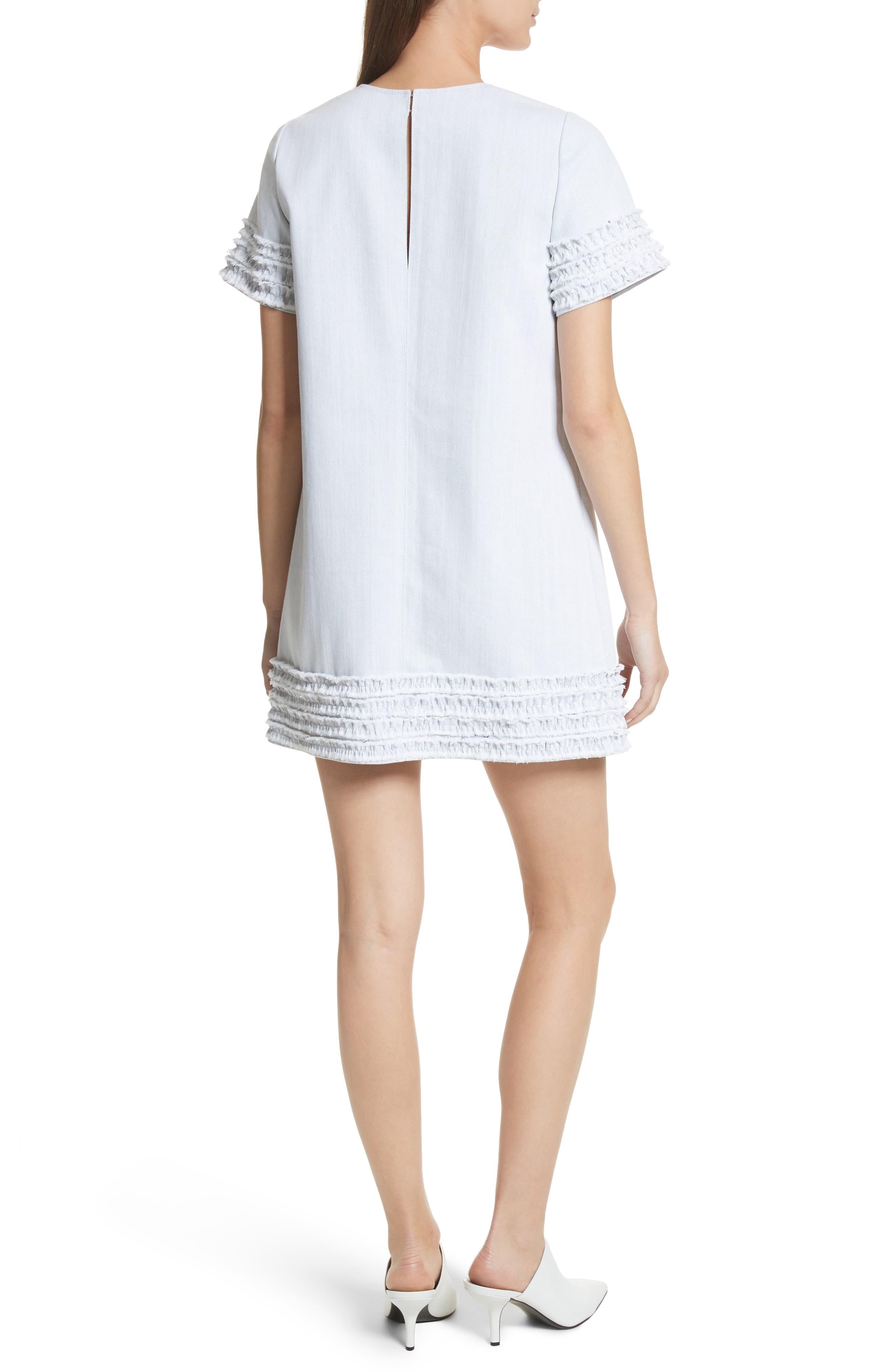 Ashton Dress,                             Alternate thumbnail 2, color,                             White