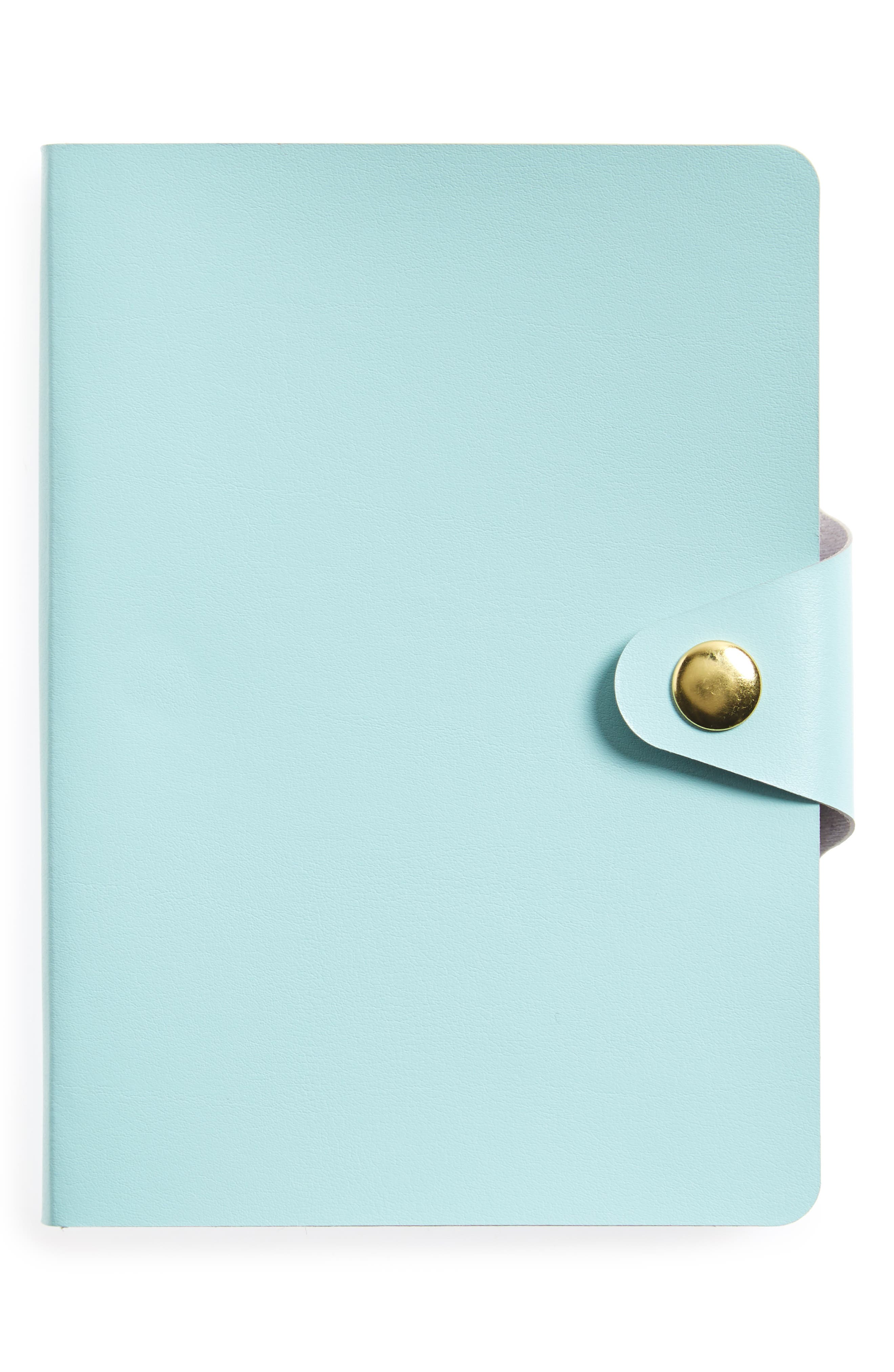 Bonded Leather Journal,                             Main thumbnail 1, color,                             Mint