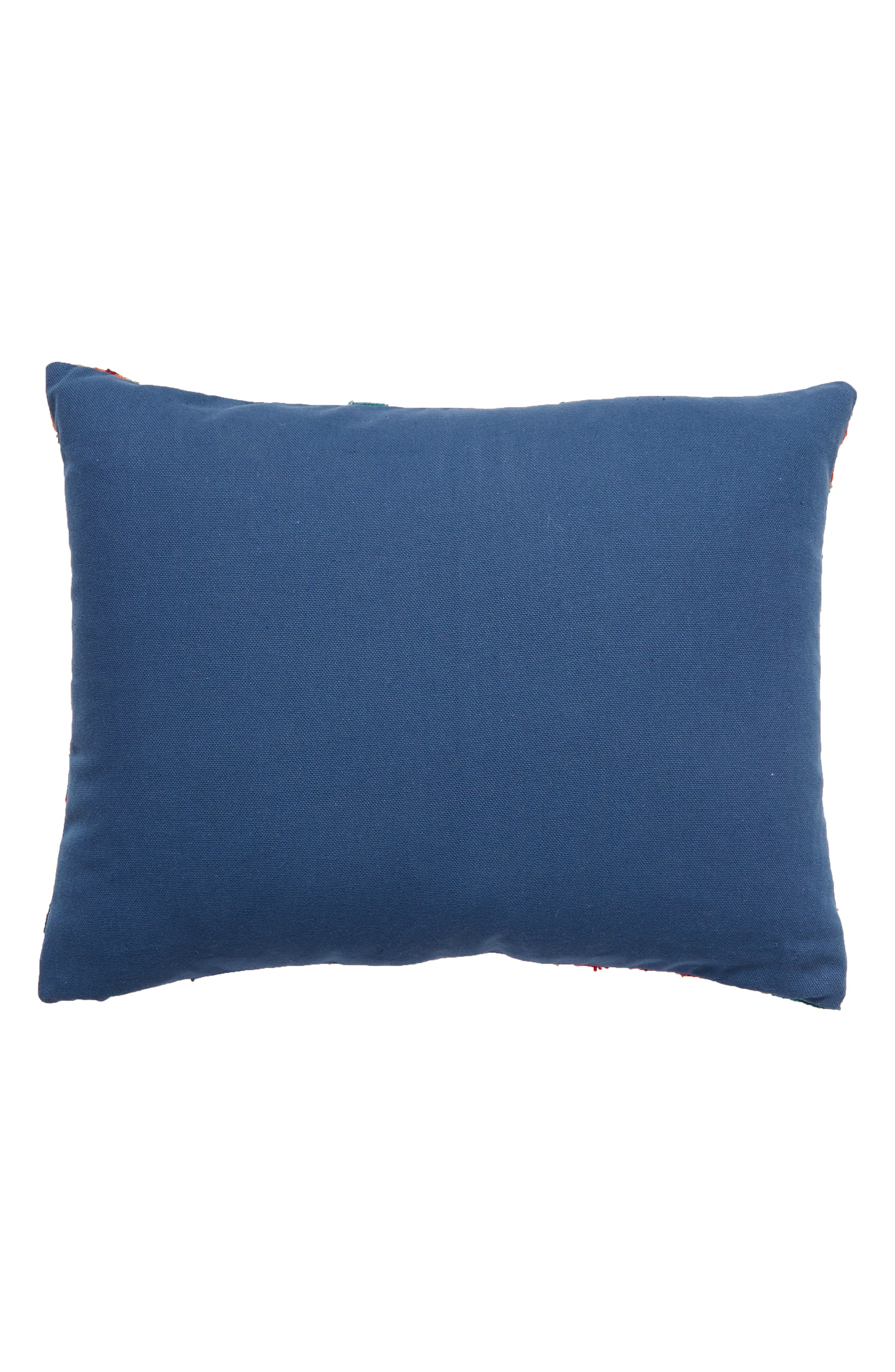 Carla Accent Pillow,                             Alternate thumbnail 2, color,                             Blue