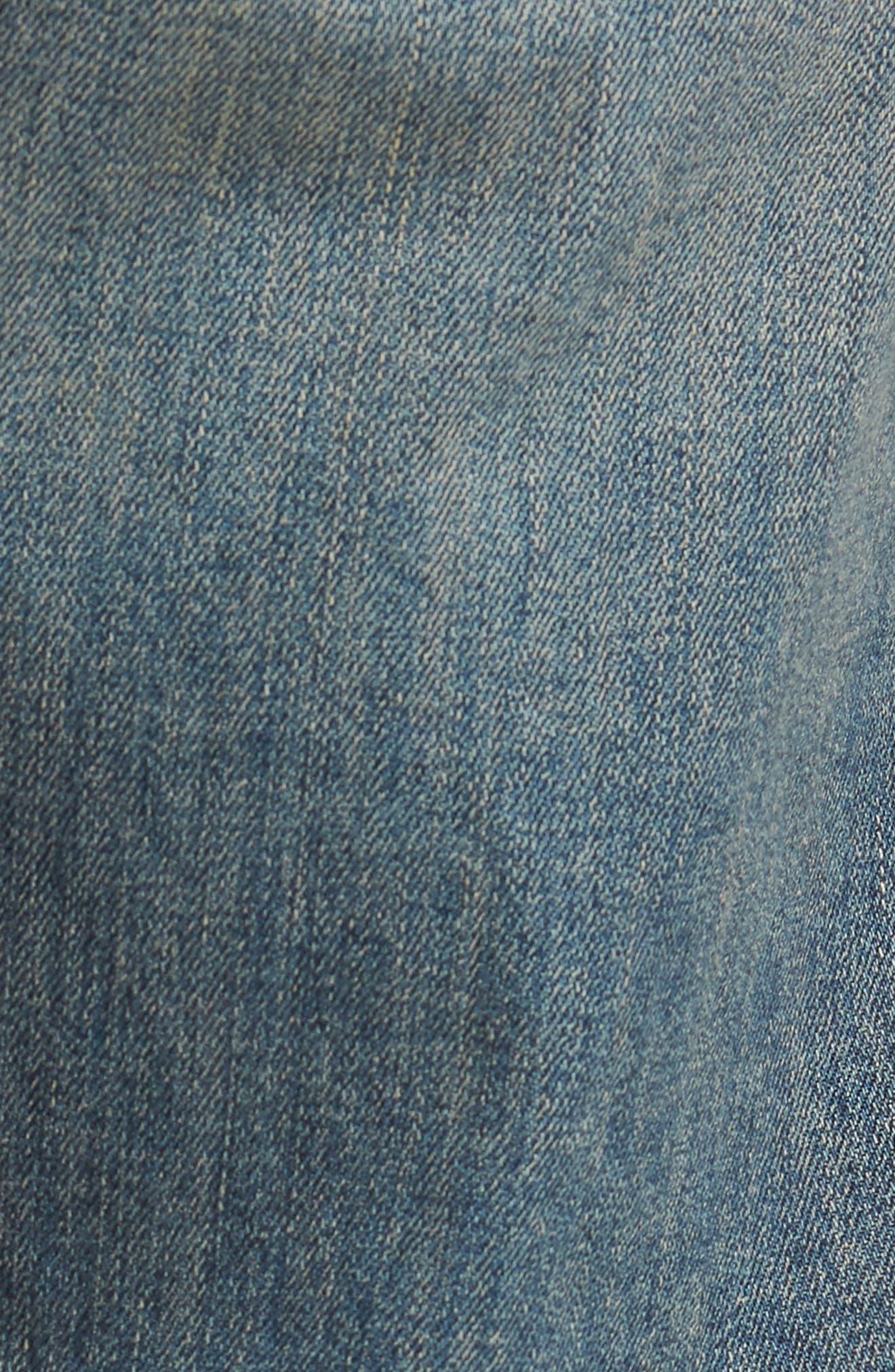 Sid Straight Leg Jeans,                             Alternate thumbnail 5, color,                             Hillcrest