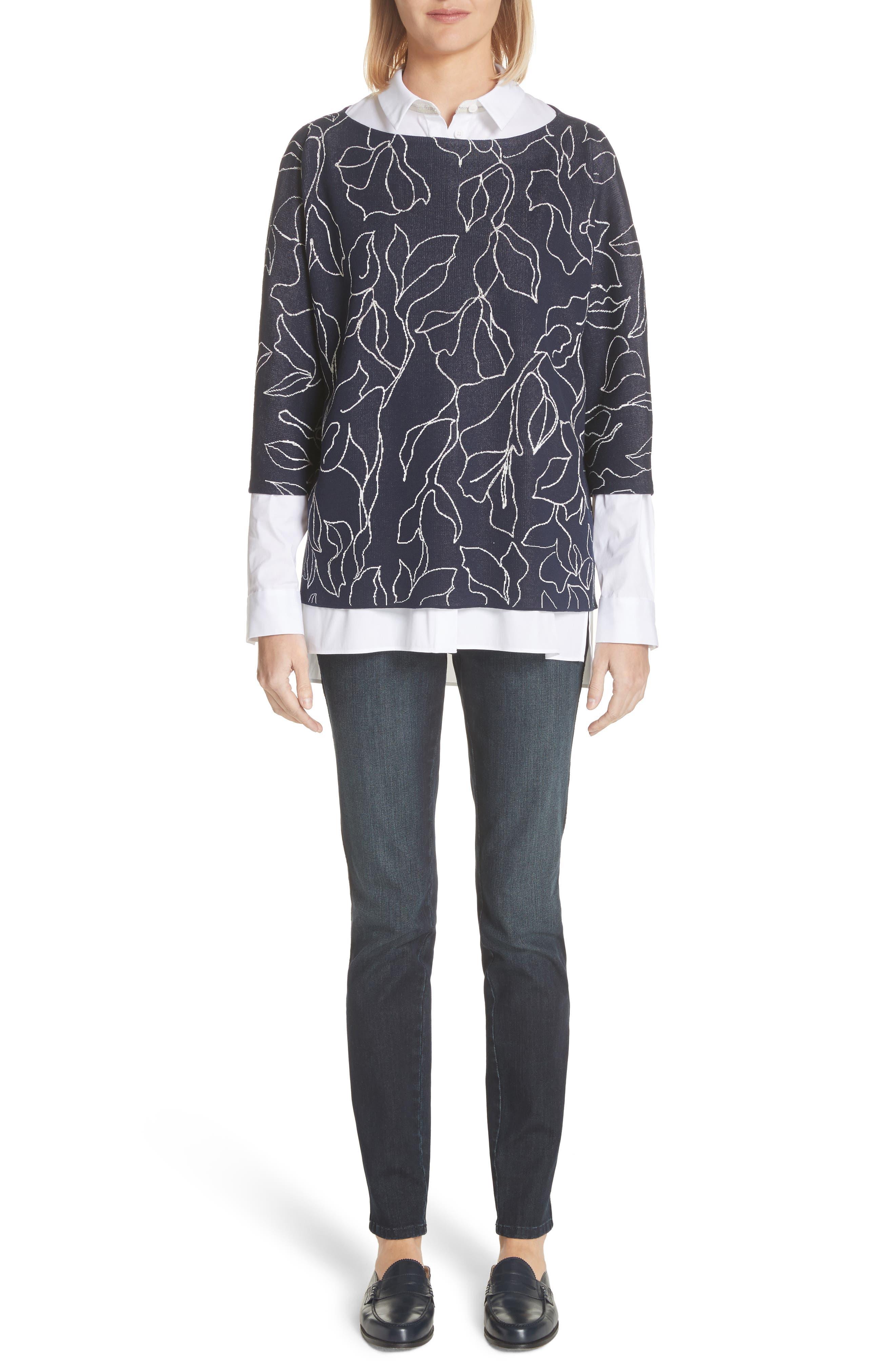 Mercer Skinny Jeans,                             Alternate thumbnail 8, color,                             Indigo