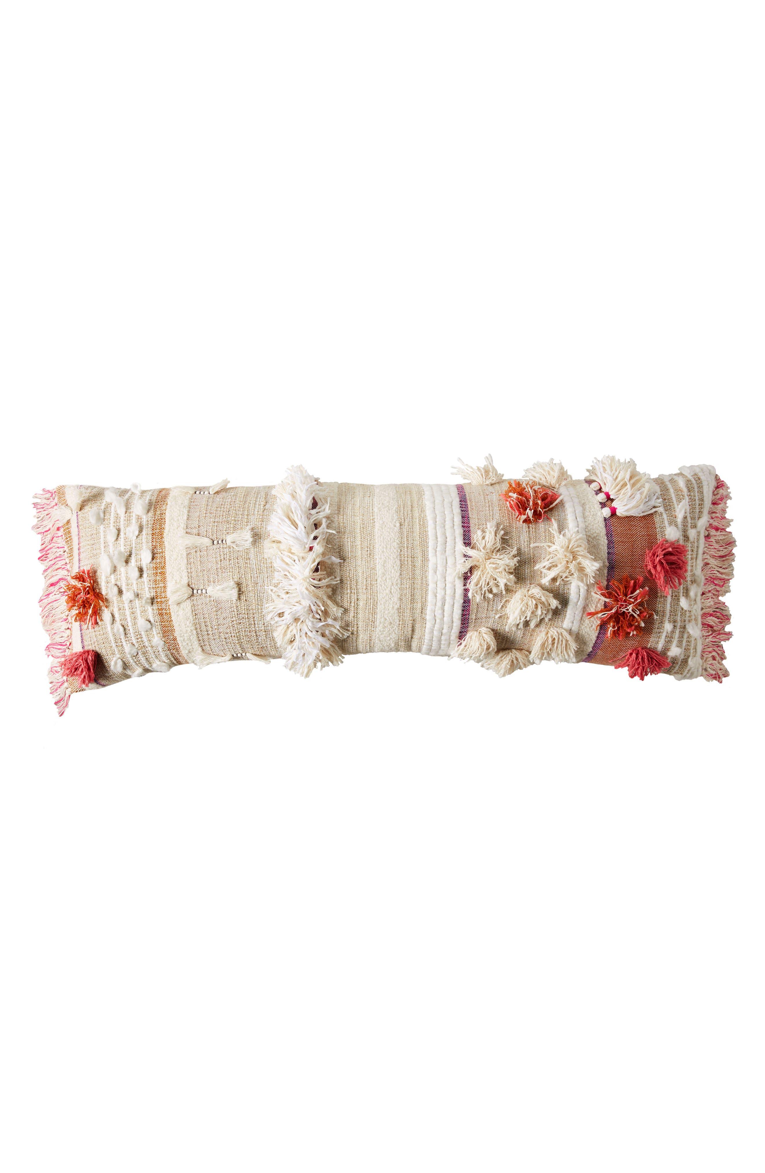 x All Roads Design Open Market Accent Pillow,                             Alternate thumbnail 6, color,                             Pink