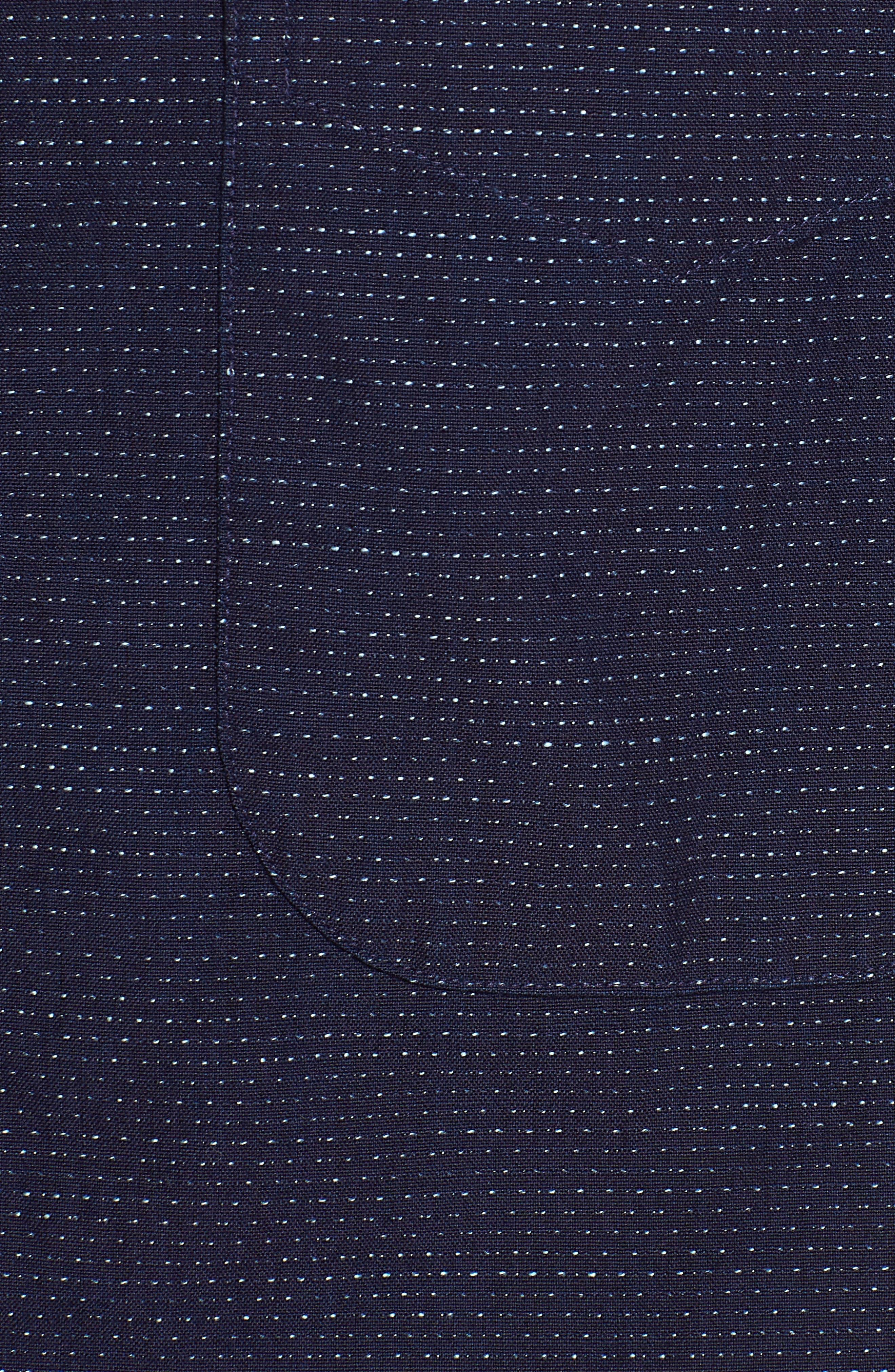Camp Shirt,                             Alternate thumbnail 5, color,                             Navy