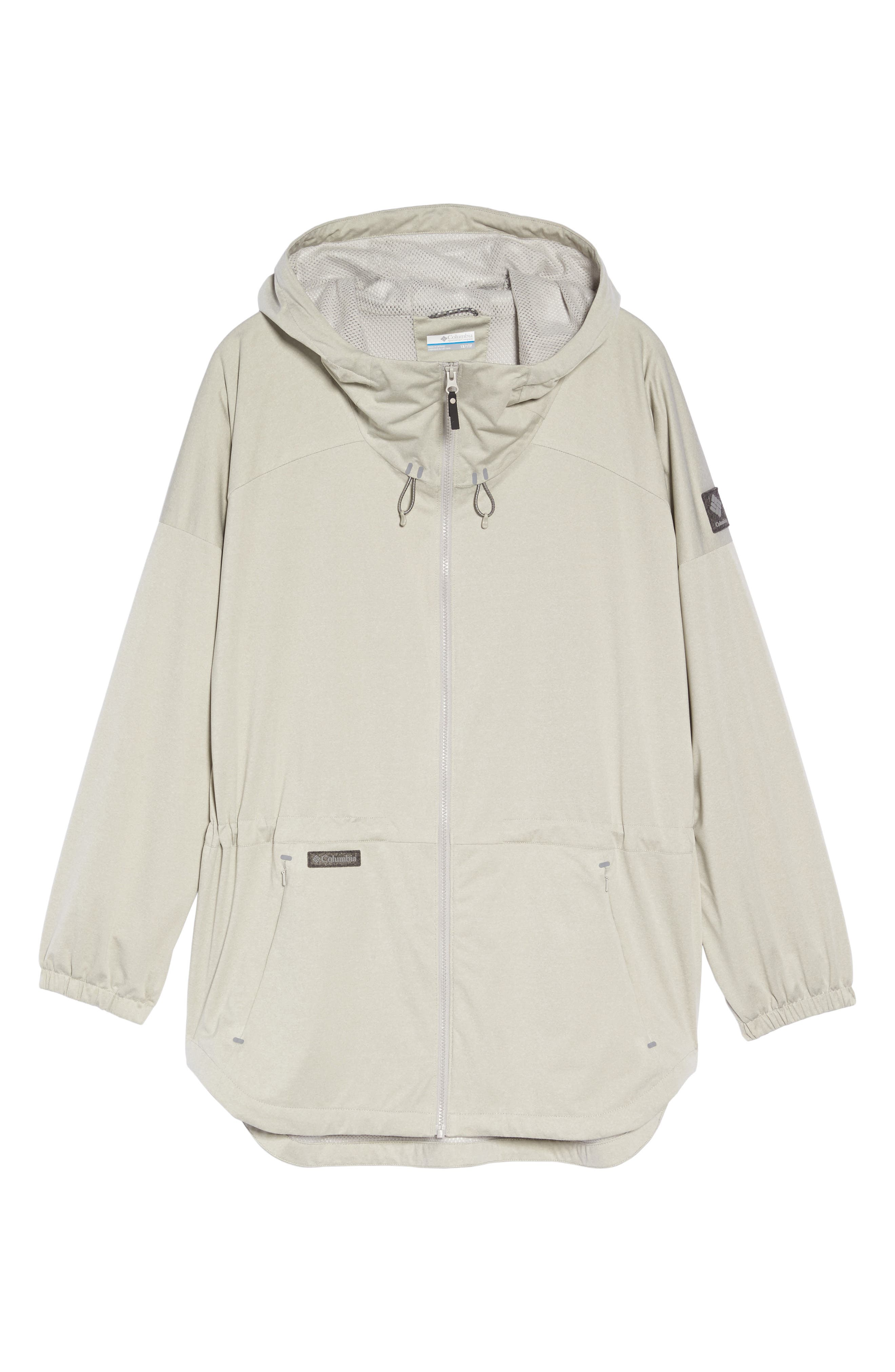 Northbounder Waterproof Hooded Jacket,                             Alternate thumbnail 6, color,                             Flint Grey Heather
