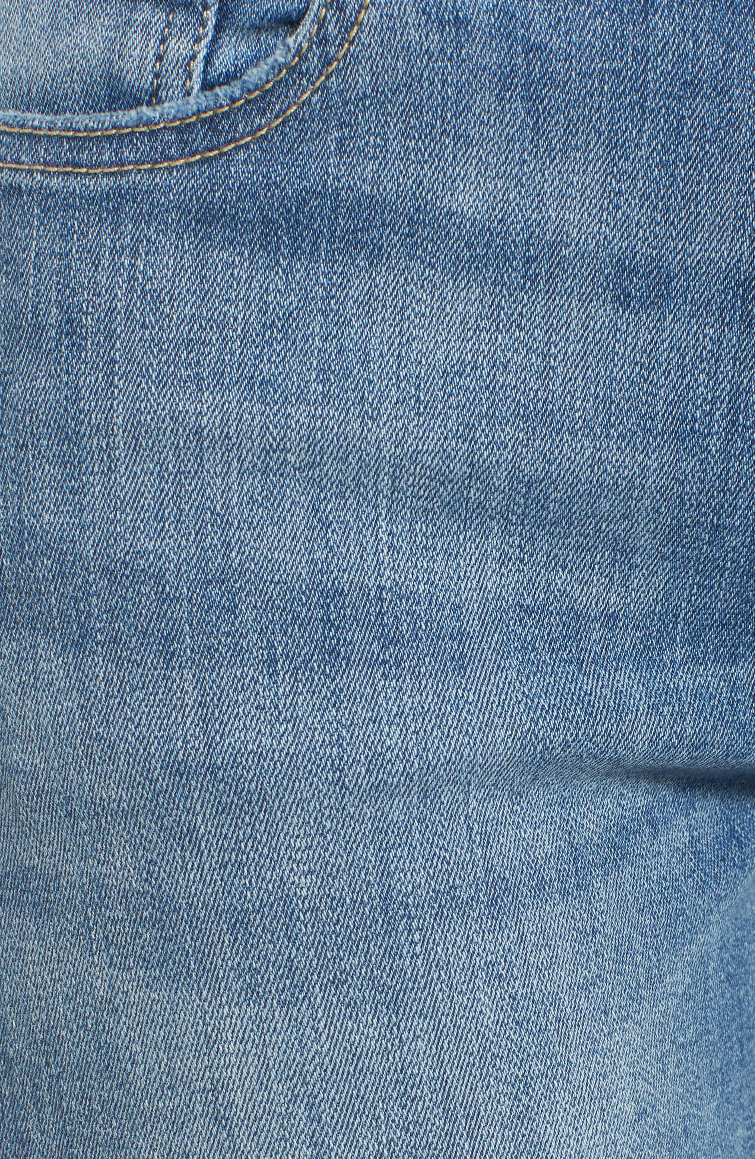 Mara Instasculpt Ankle Straight Leg Jeans,                             Alternate thumbnail 6, color,                             Upstate
