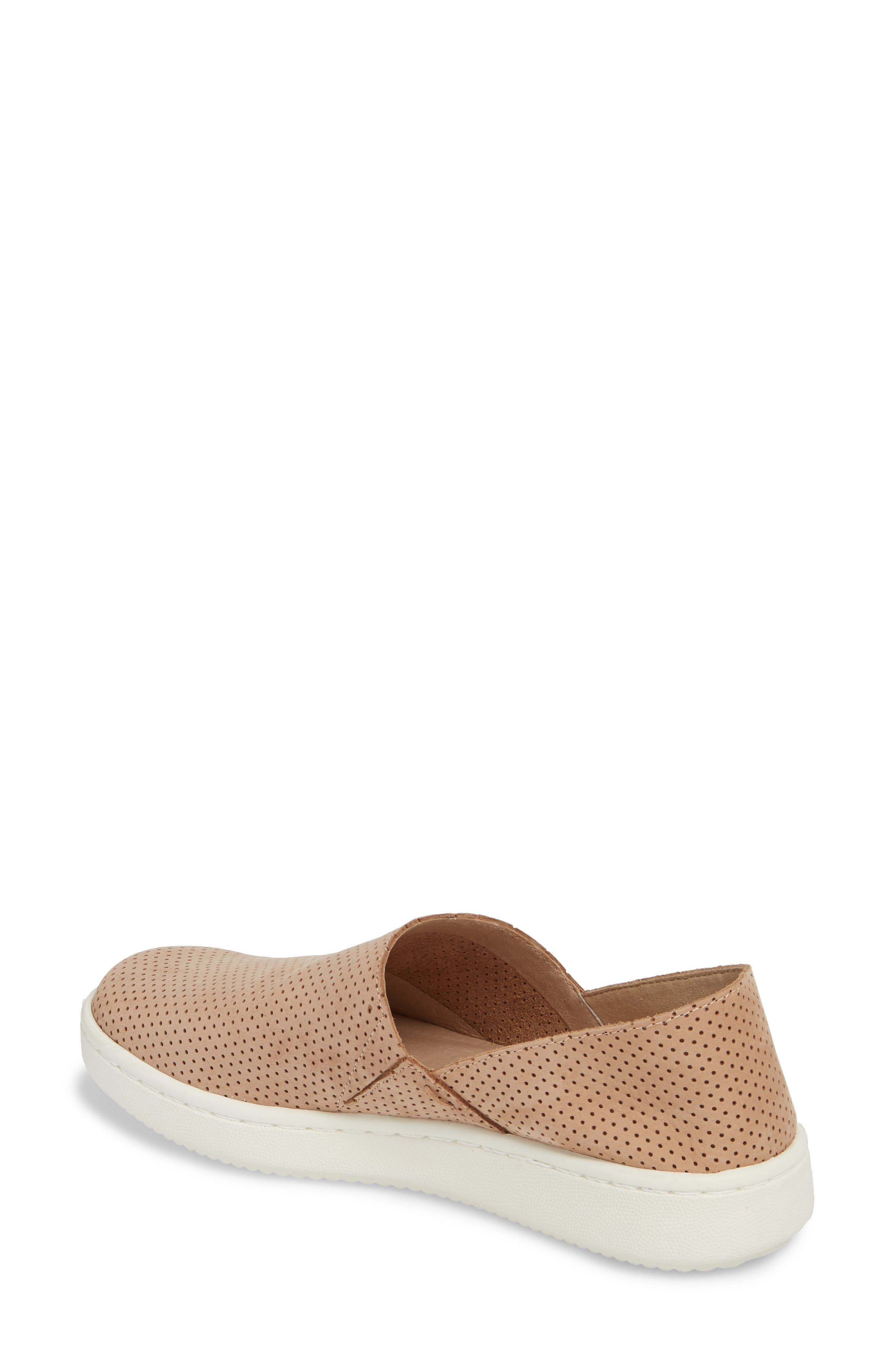Alternate Image 2  - Eileen Fisher Panda Perforated Slip-On Sneaker (Women)