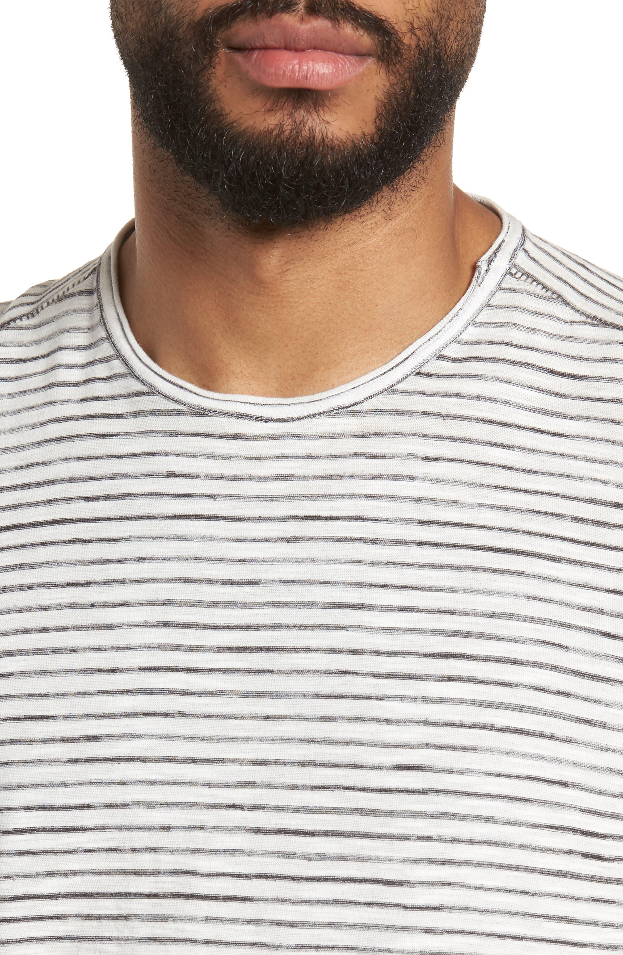 Slim Fit T-Shirt,                             Alternate thumbnail 4, color,                             White