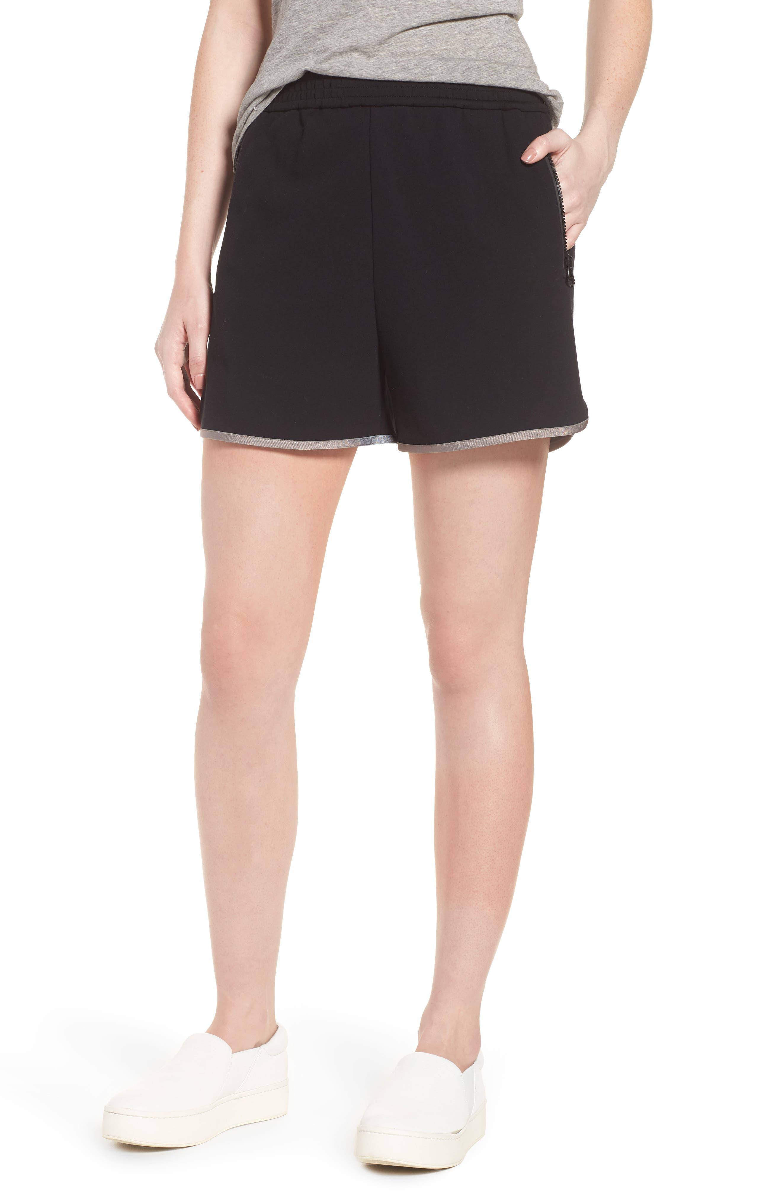 Gym Shorts,                             Main thumbnail 1, color,                             Black
