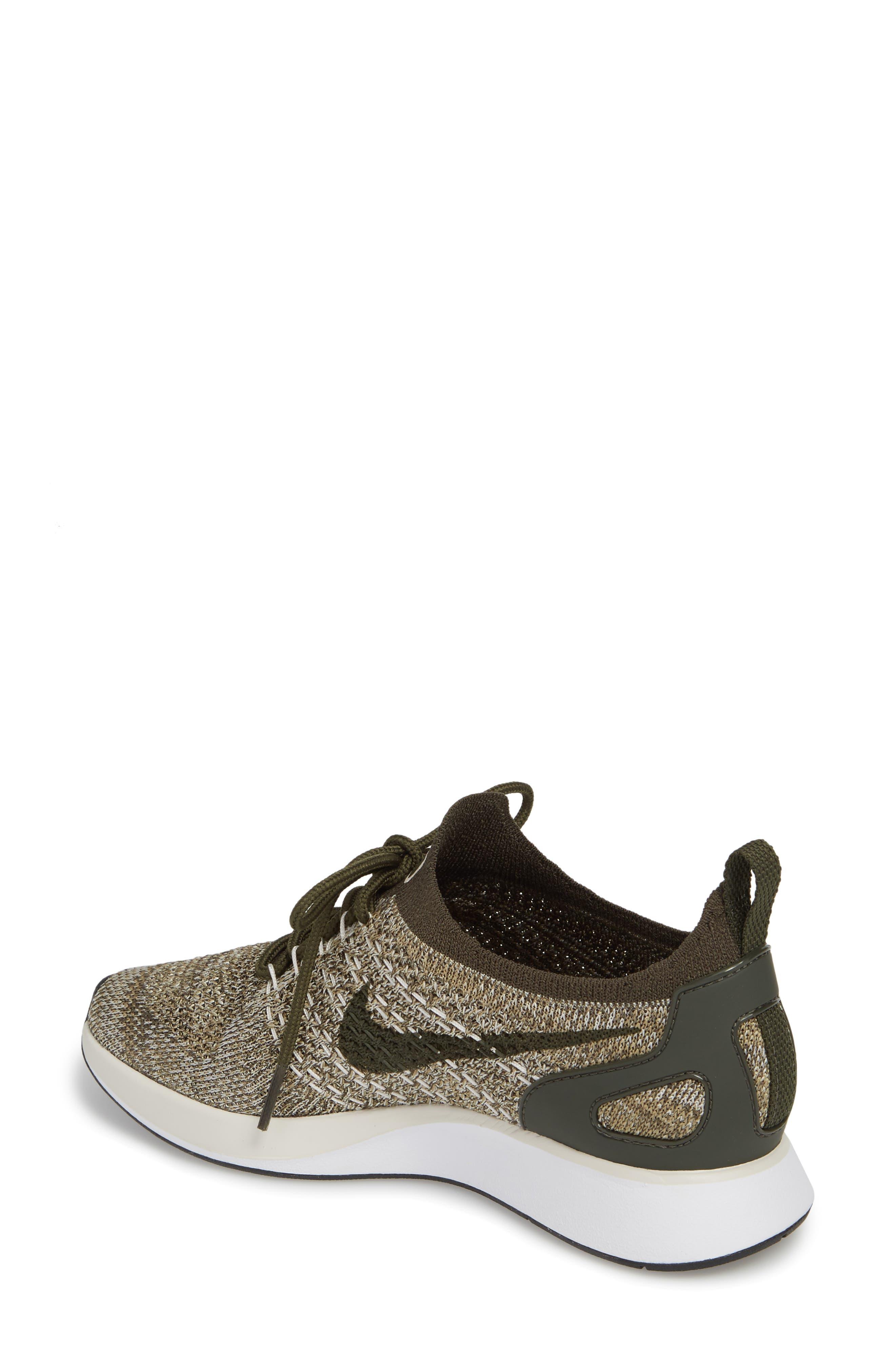 Air Zoom Mariah Flyknit Racer Sneaker,                             Alternate thumbnail 2, color,                             Cargo Khaki/ Cargo Khaki