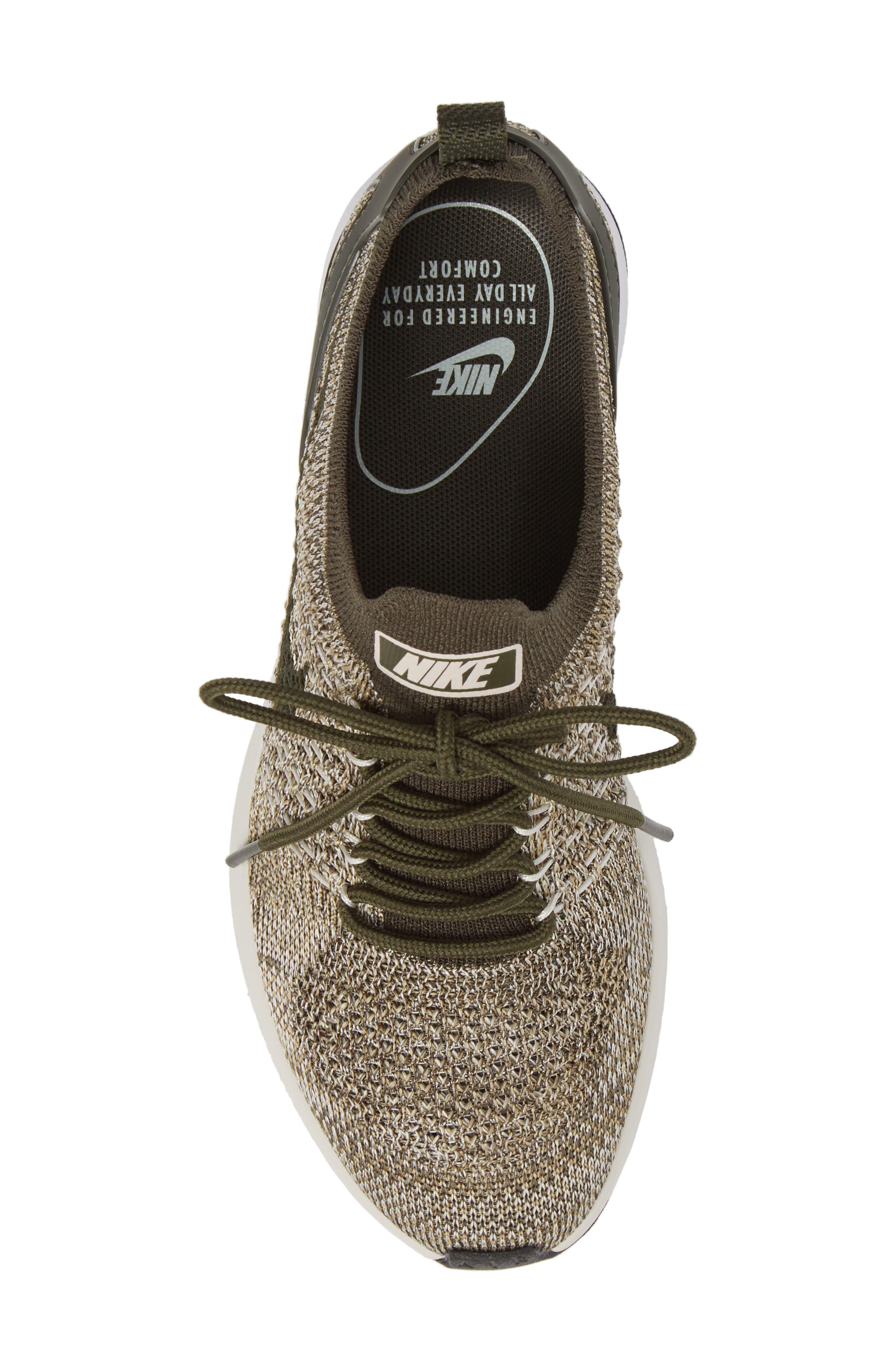 Air Zoom Mariah Flyknit Racer Sneaker,                             Alternate thumbnail 4, color,                             Cargo Khaki/ Cargo Khaki
