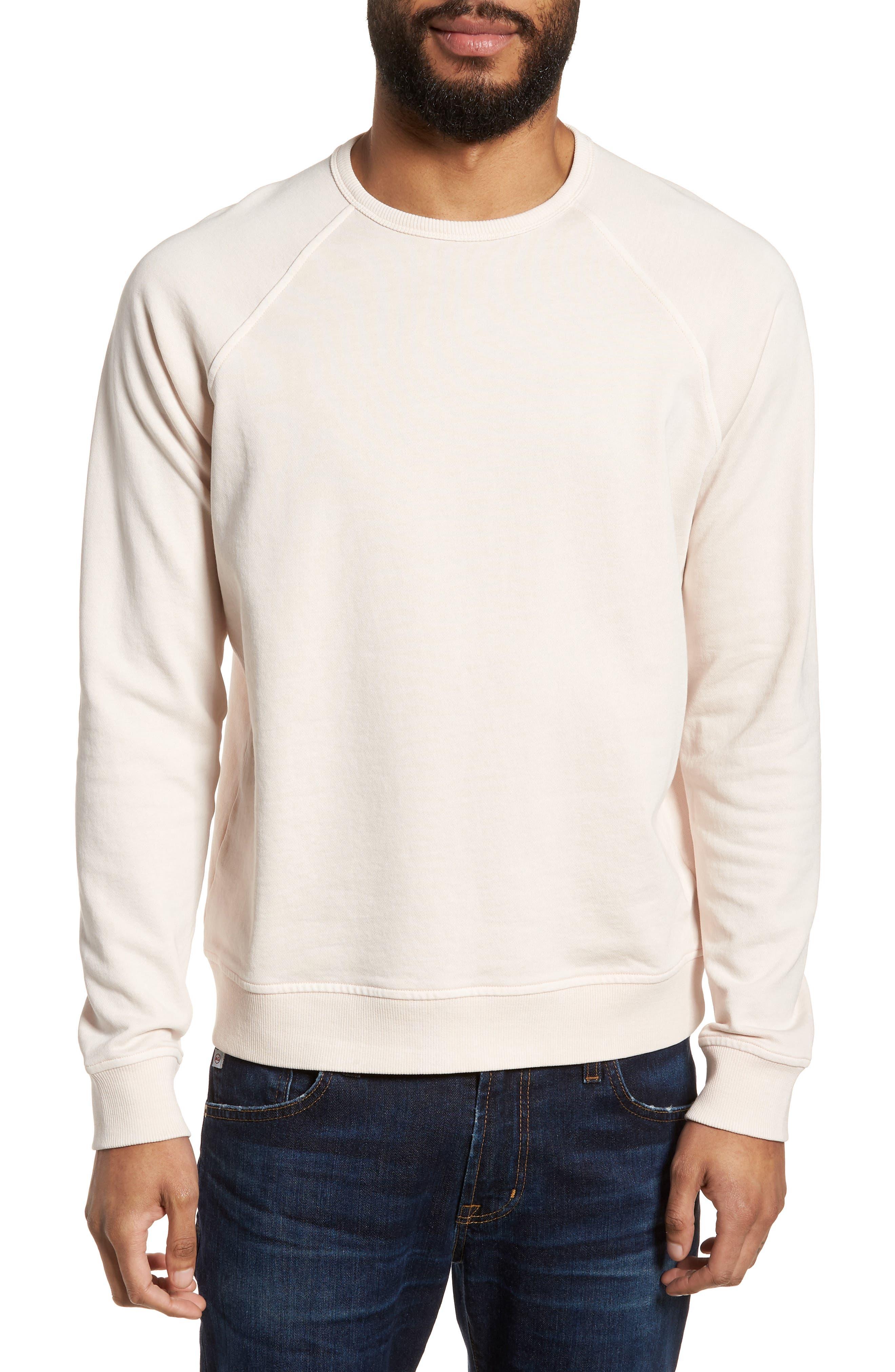 Schrank Raglan Sweatshirt,                         Main,                         color, Pink