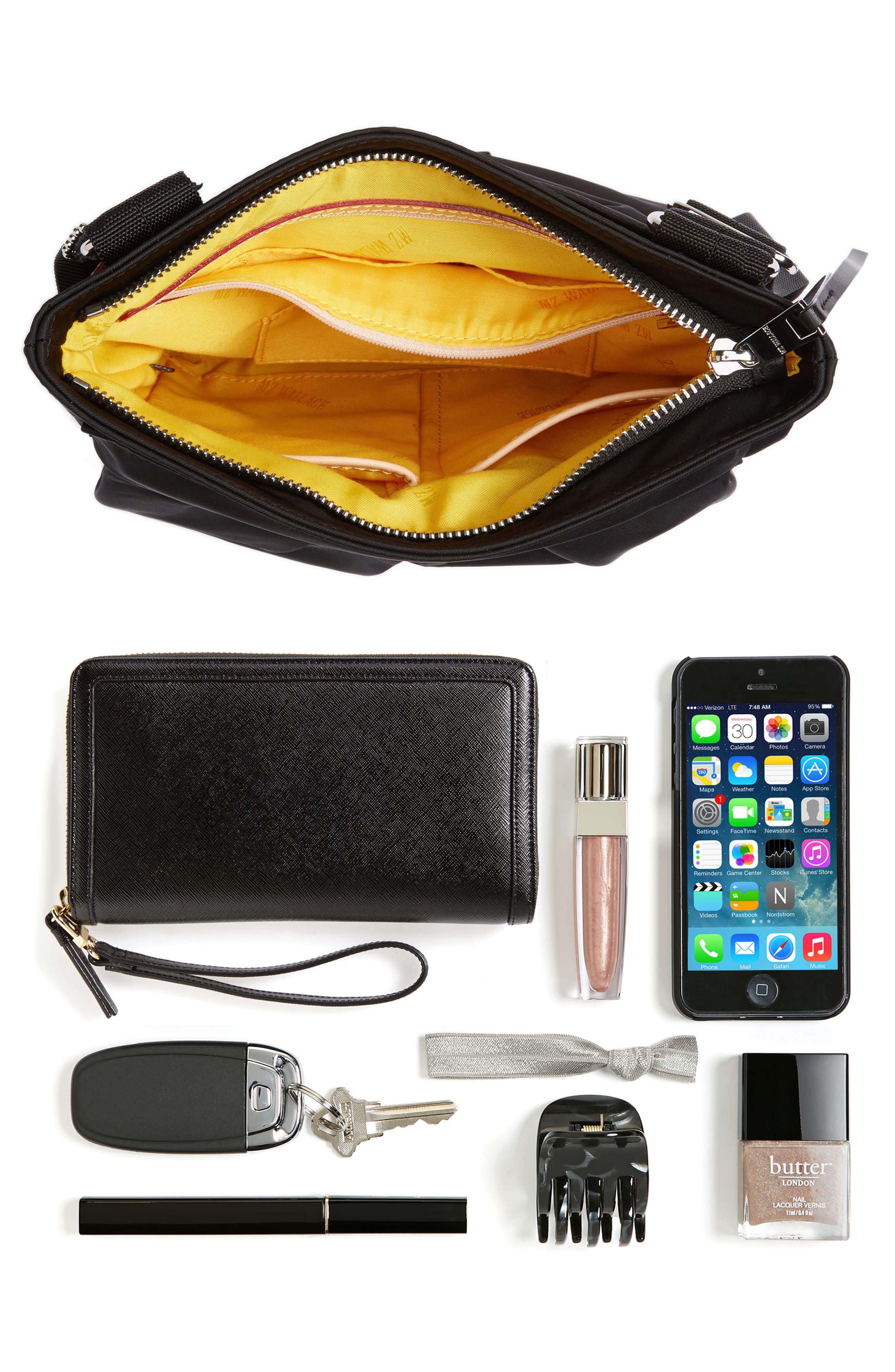 Jordan Bedford Nylon Crossbody Bag,                             Alternate thumbnail 4, color,