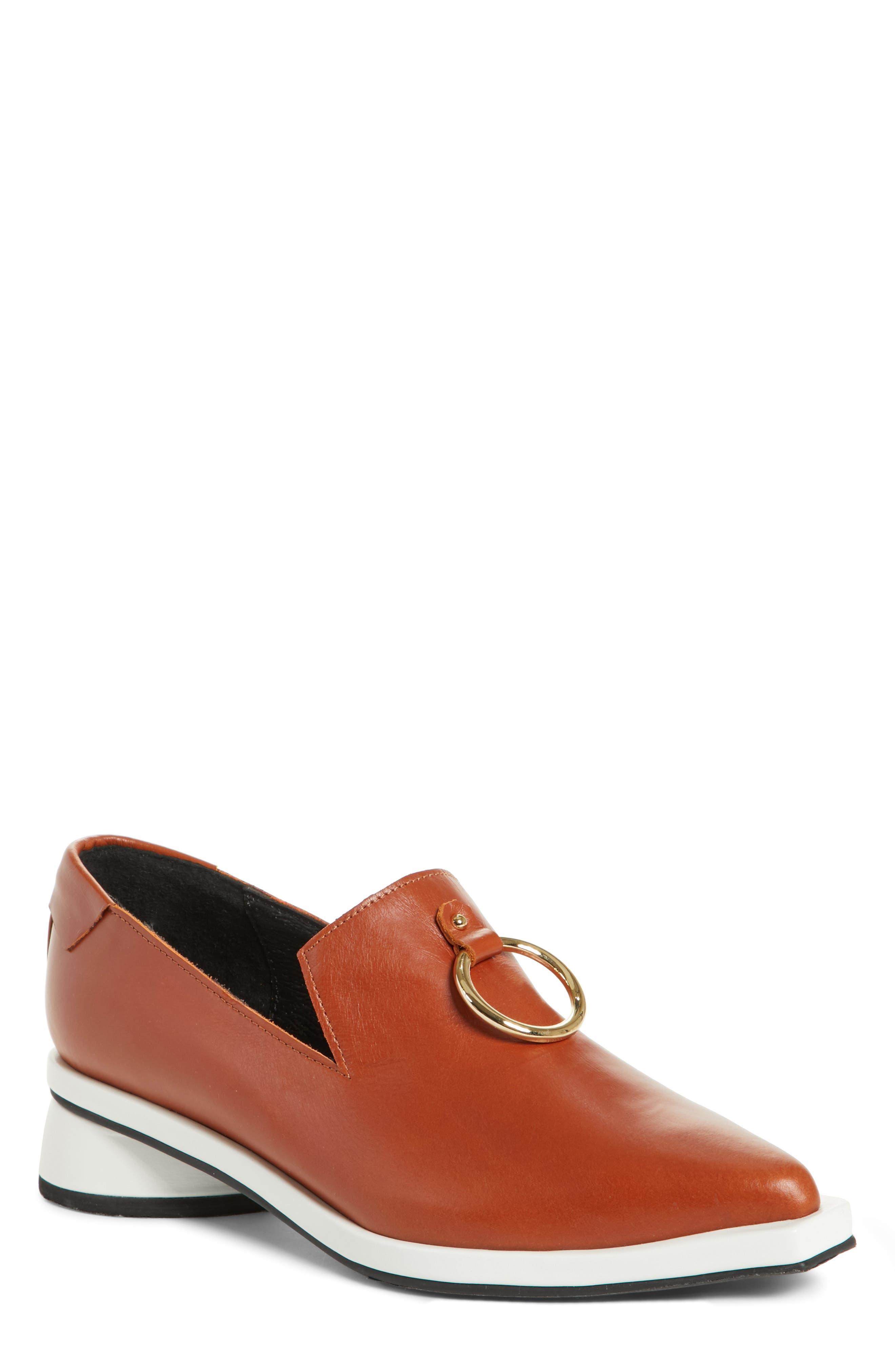 d30ff8b984e Reike Nen Buckle Loafer In Brown White