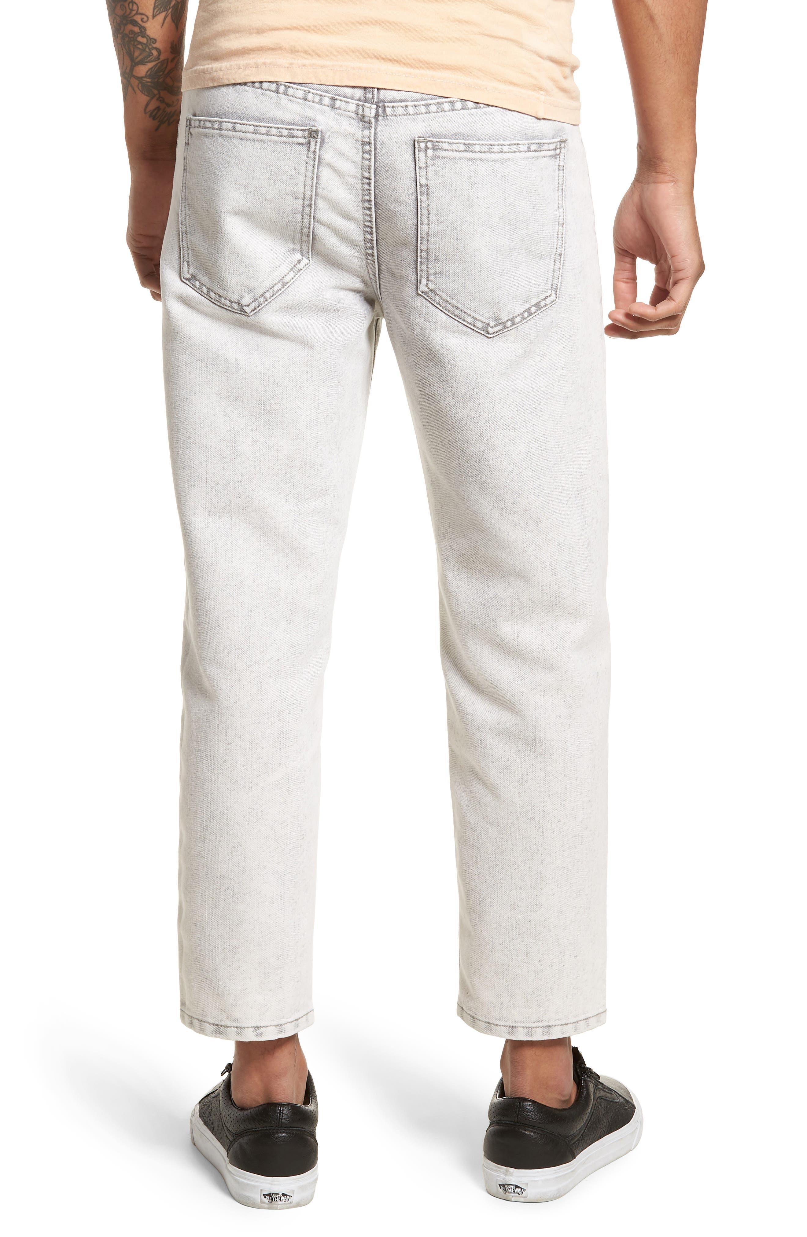 Dr. Denim Jeansmaker Otis Straight Fit Jeans,                             Alternate thumbnail 2, color,                             Dirty White