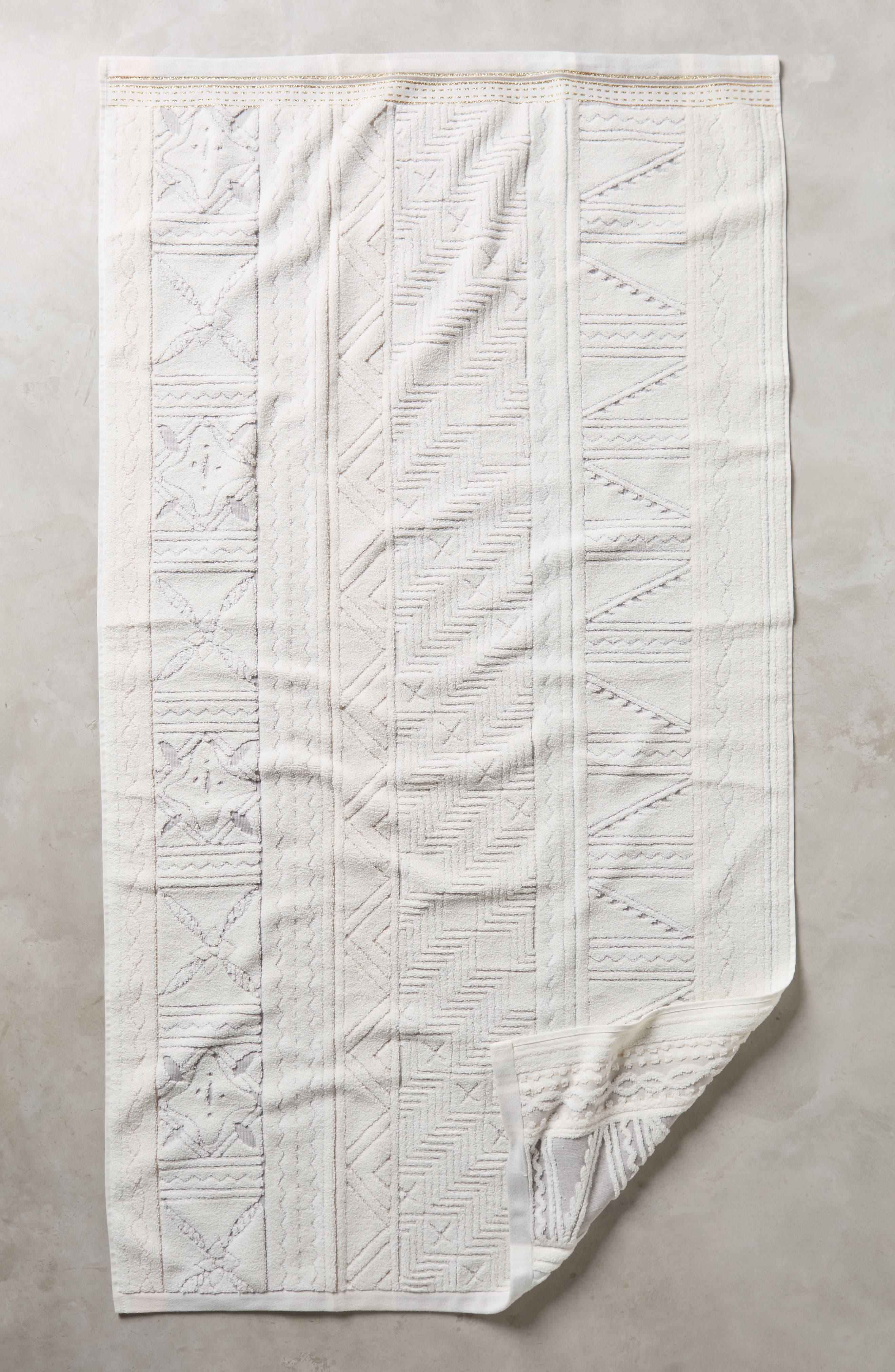 Windstream Hand Towel,                         Main,                         color, Grey