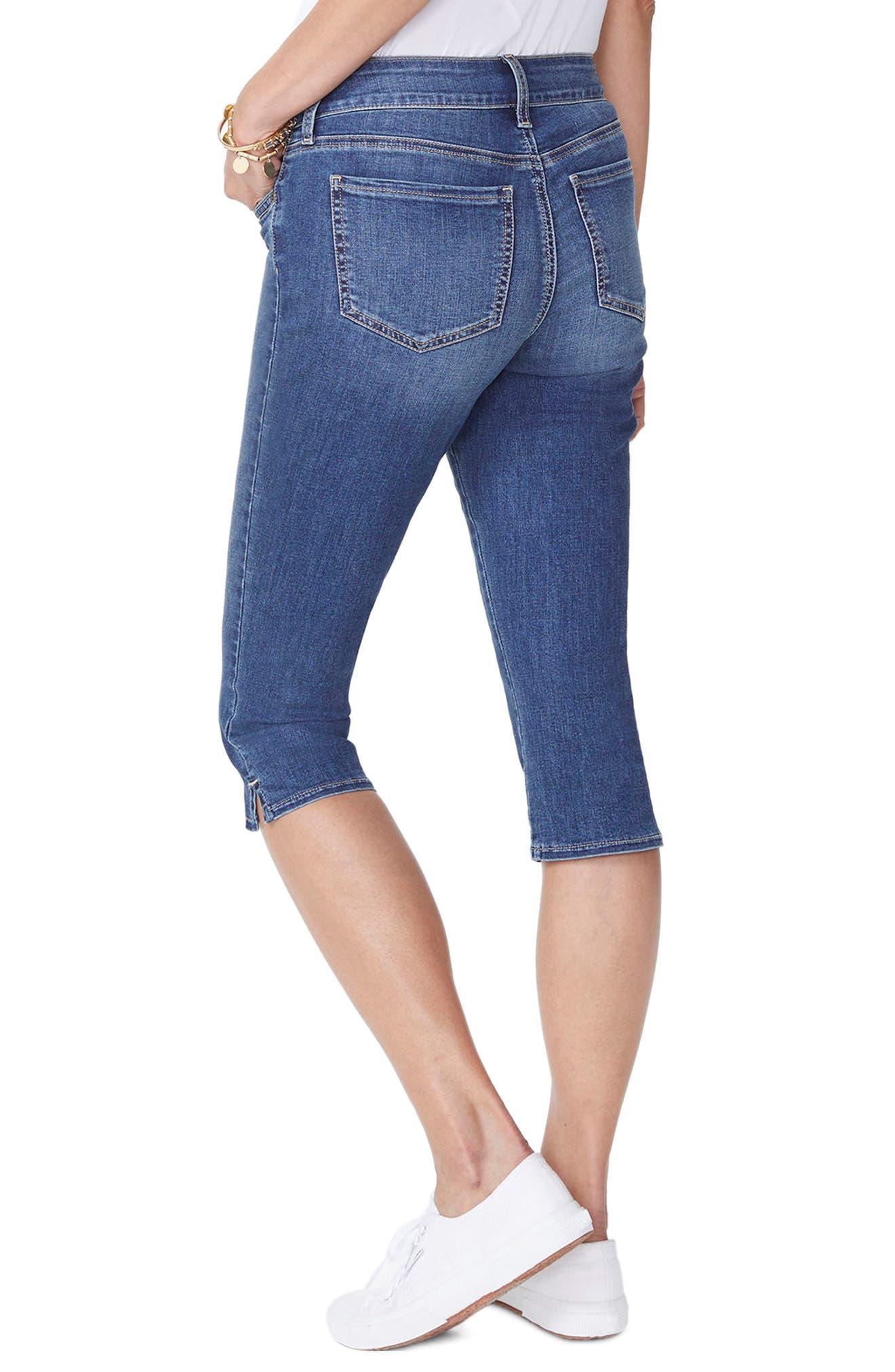 Skinny Capri Jeans,                             Alternate thumbnail 2, color,                             Zimbali