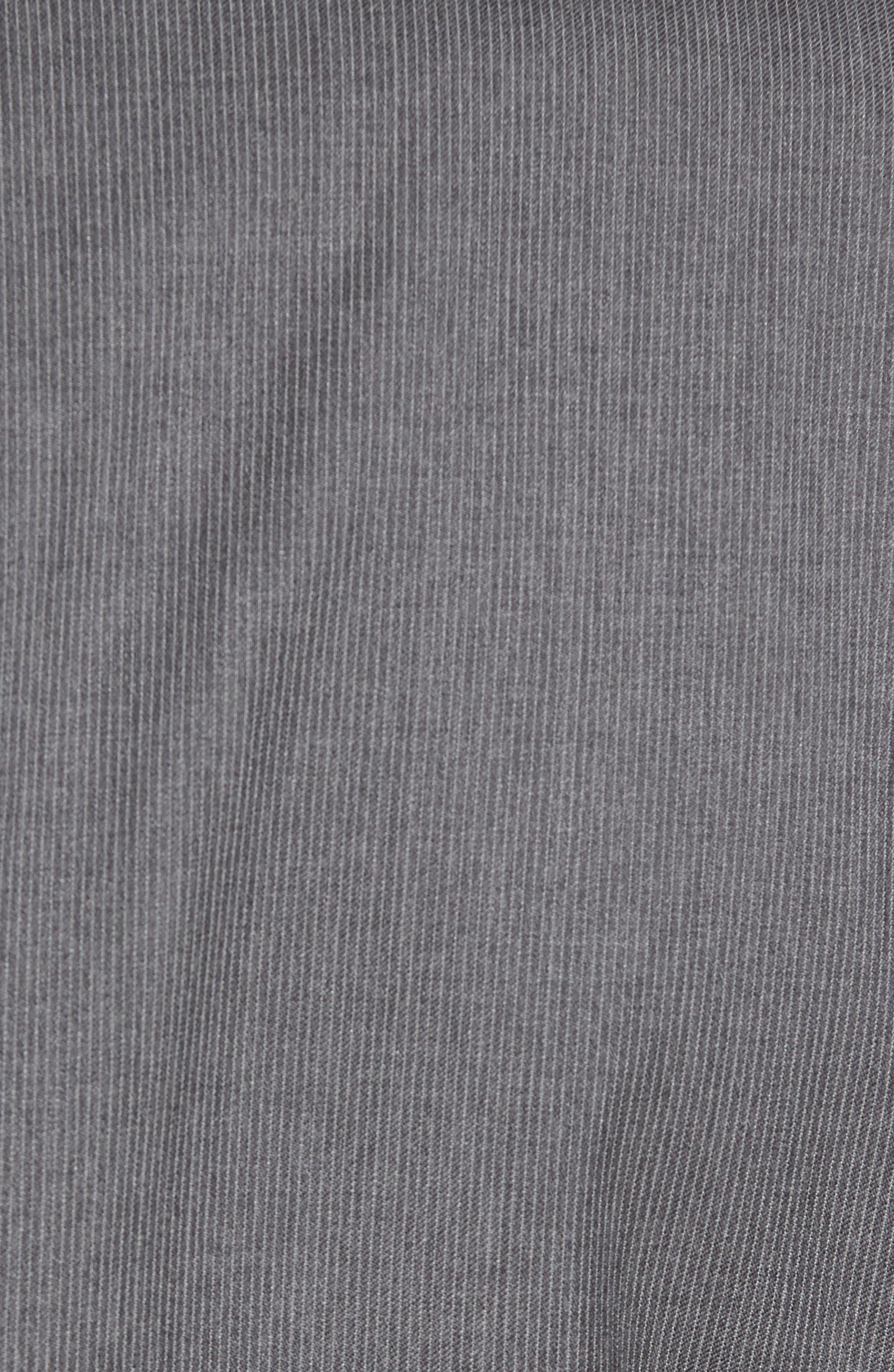 Alternate Image 7  - David Donahue Ryan Classic Fit Stripe Wool Suit