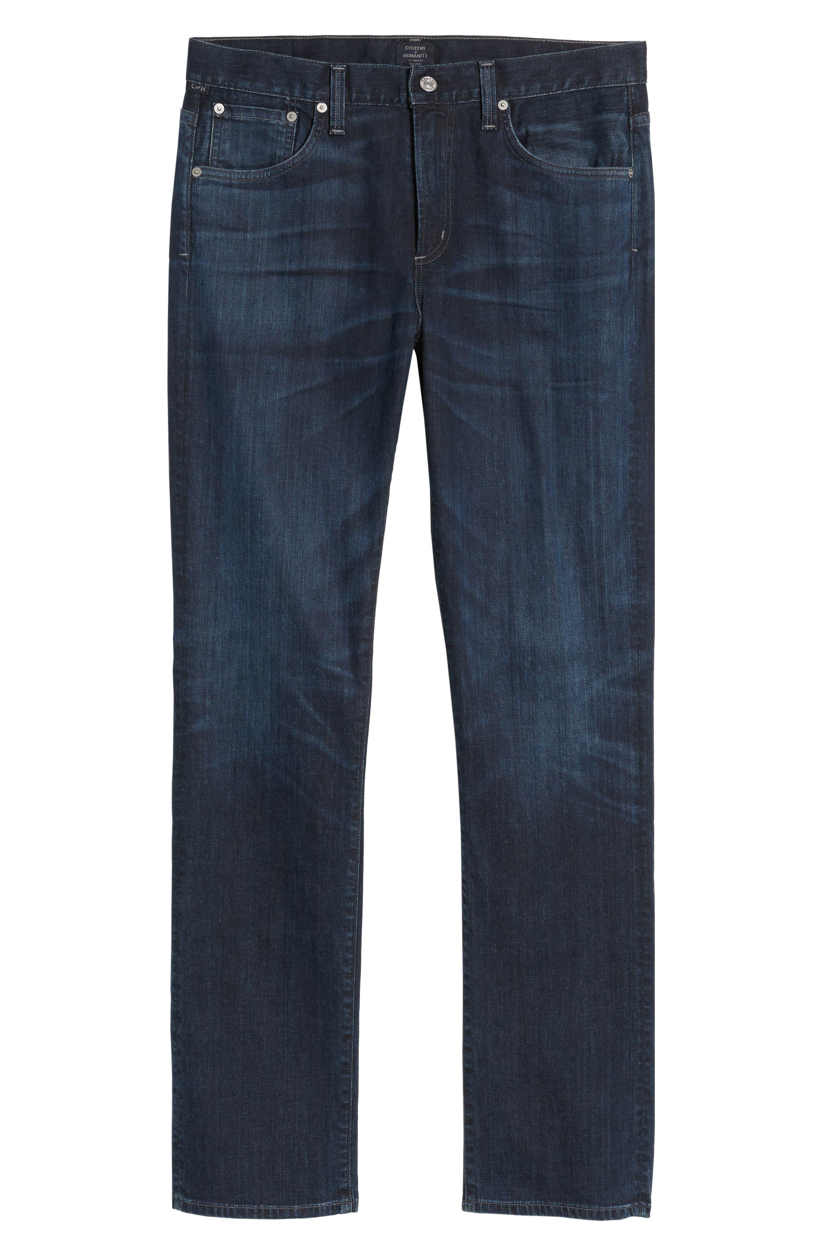 Gage Slim Straight Leg Jeans,                             Alternate thumbnail 6, color,                             Newman